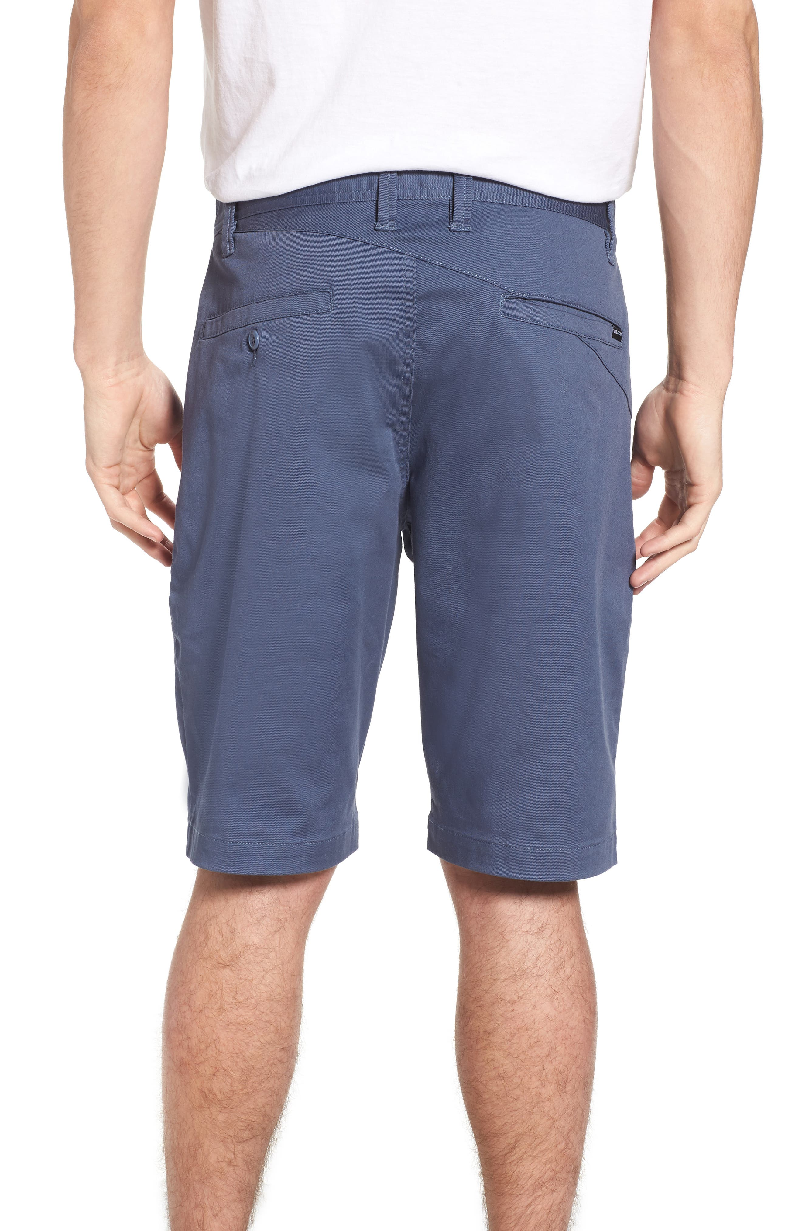 'Modern' Stretch Chino Shorts,                             Alternate thumbnail 14, color,