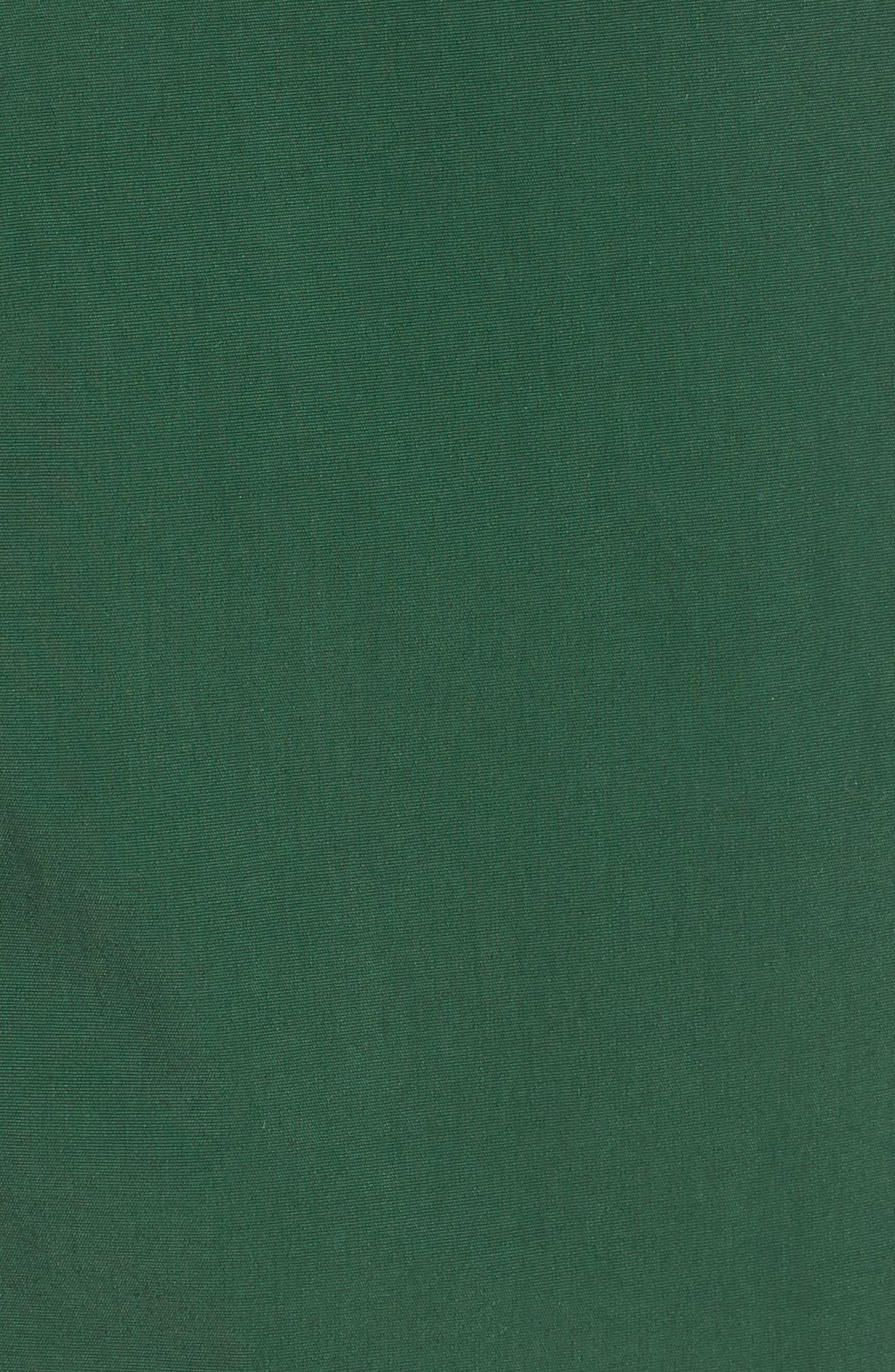 Side Stripe Swim Trunks,                             Alternate thumbnail 5, color,                             GREEN