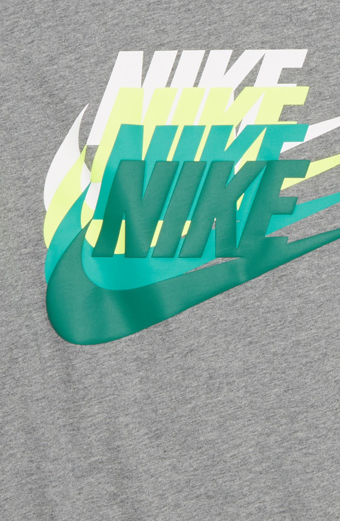 Sportswear Sunset Future Graphic T-Shirt,                             Alternate thumbnail 5, color,
