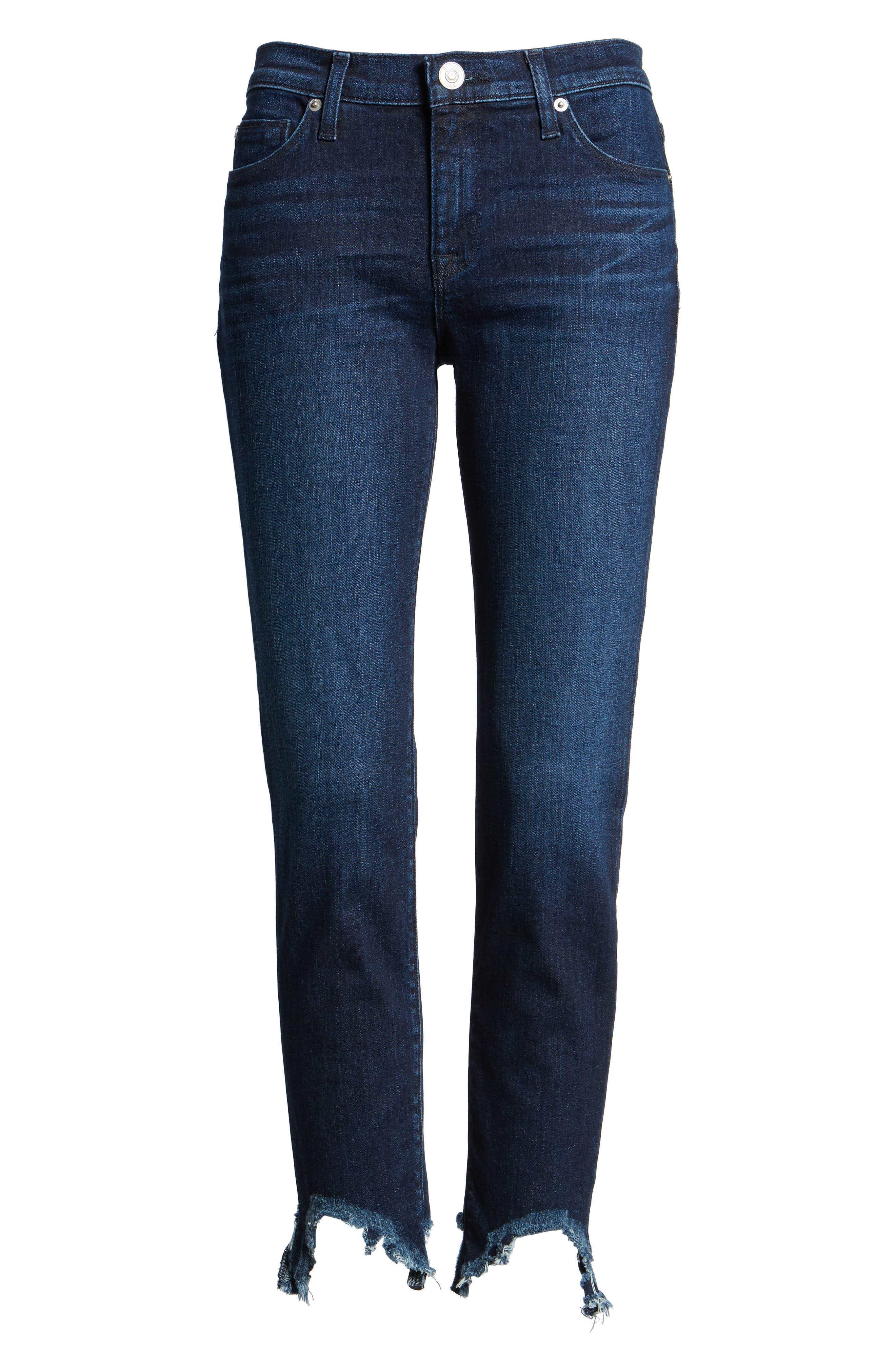 Tally Unfamed Hem Skinny Jeans,                             Alternate thumbnail 7, color,                             401