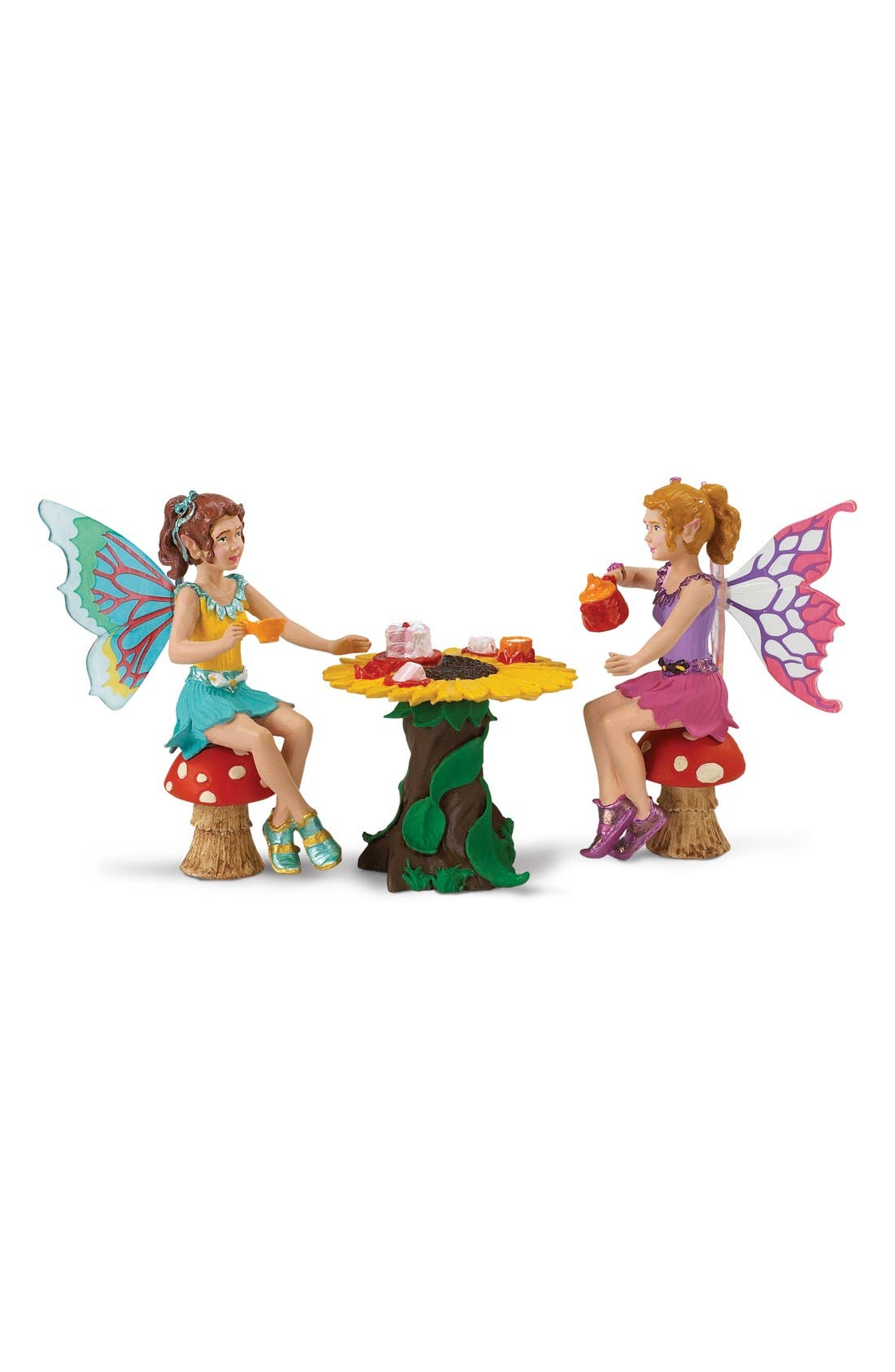 Tea Party Fairy Figurines,                             Main thumbnail 1, color,                             NO COLOR