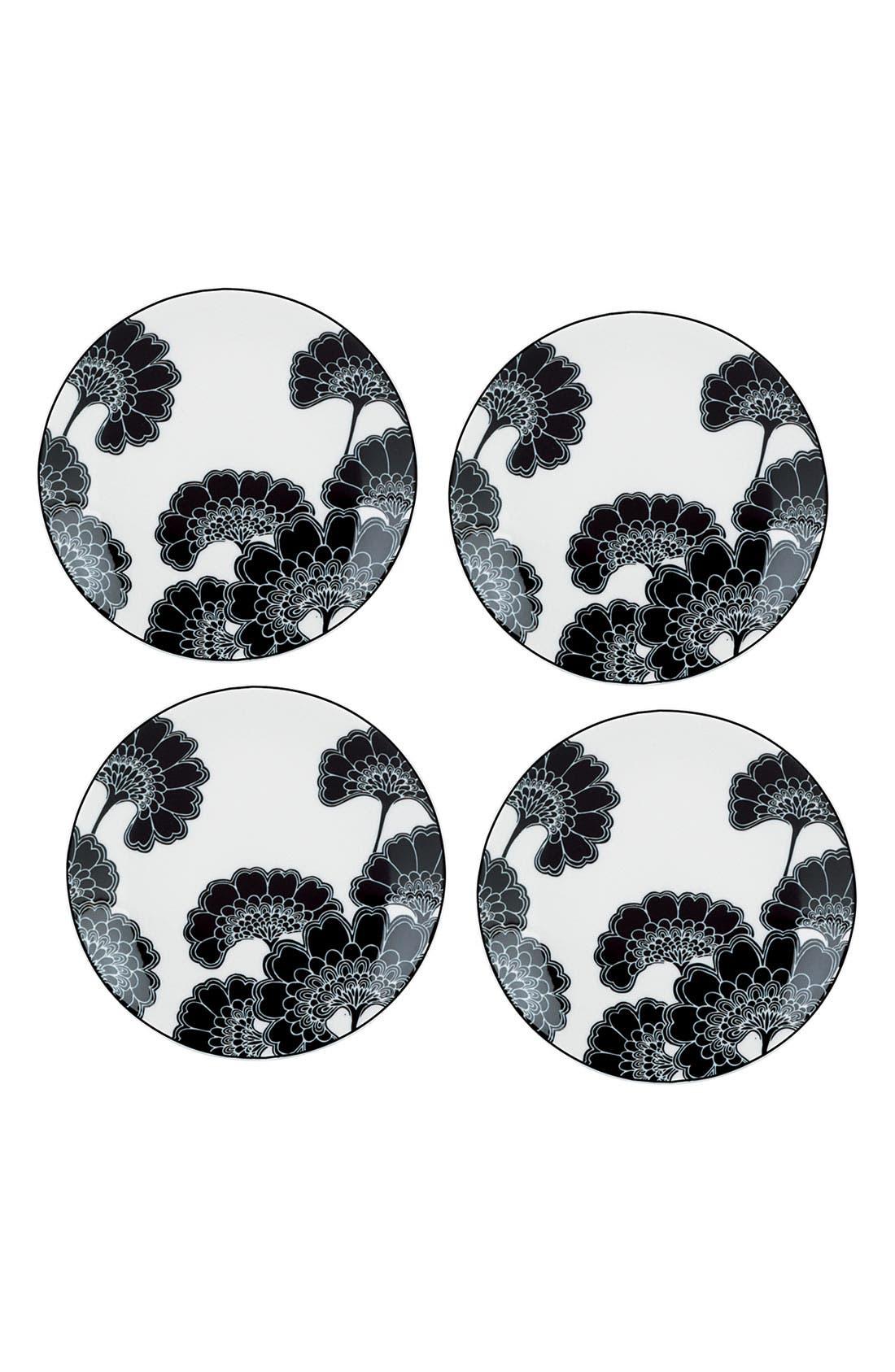 'japanese floral' tidbit plates,                         Main,                         color, 960