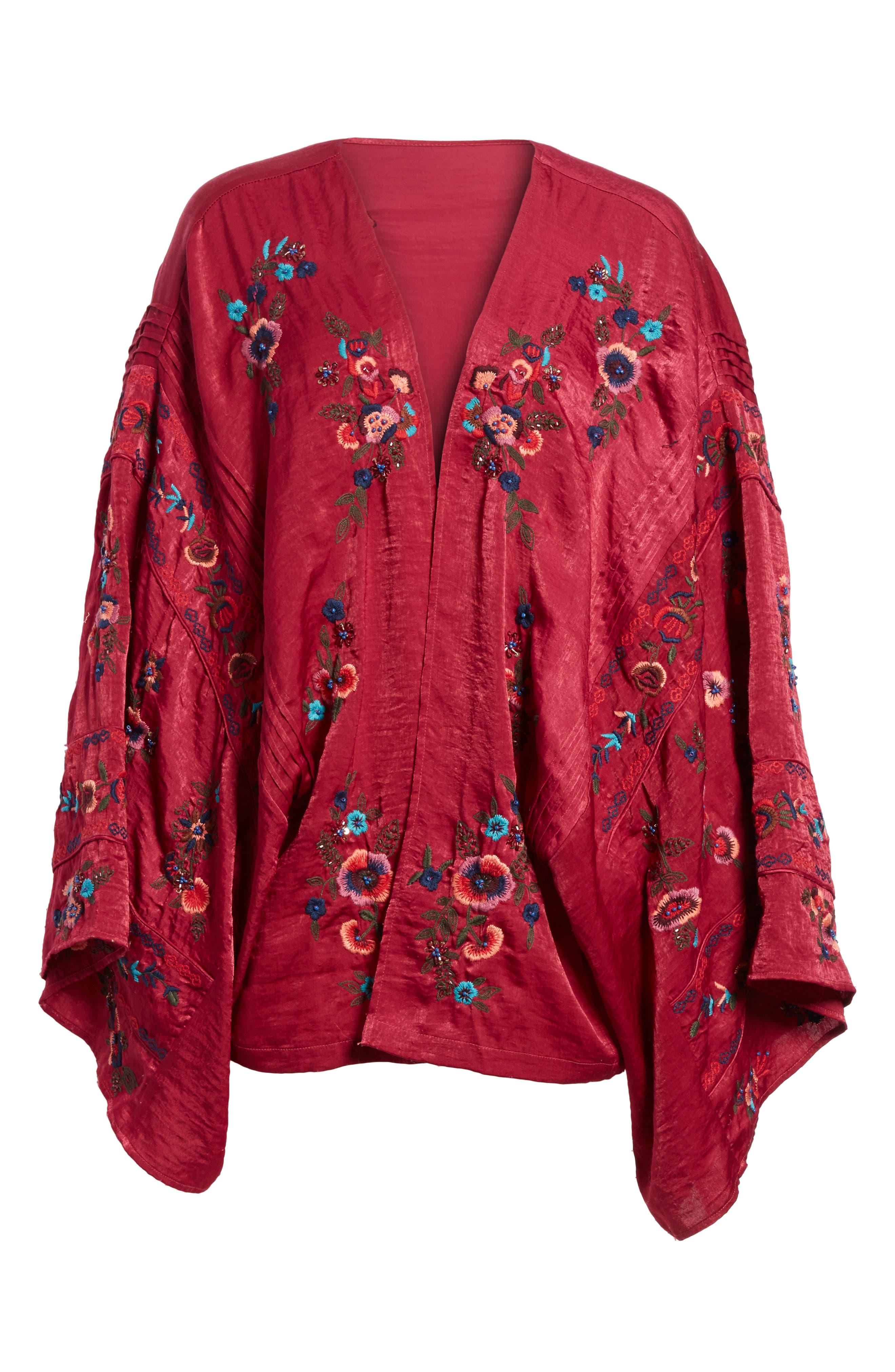 Ariel Kimono,                             Alternate thumbnail 5, color,                             624