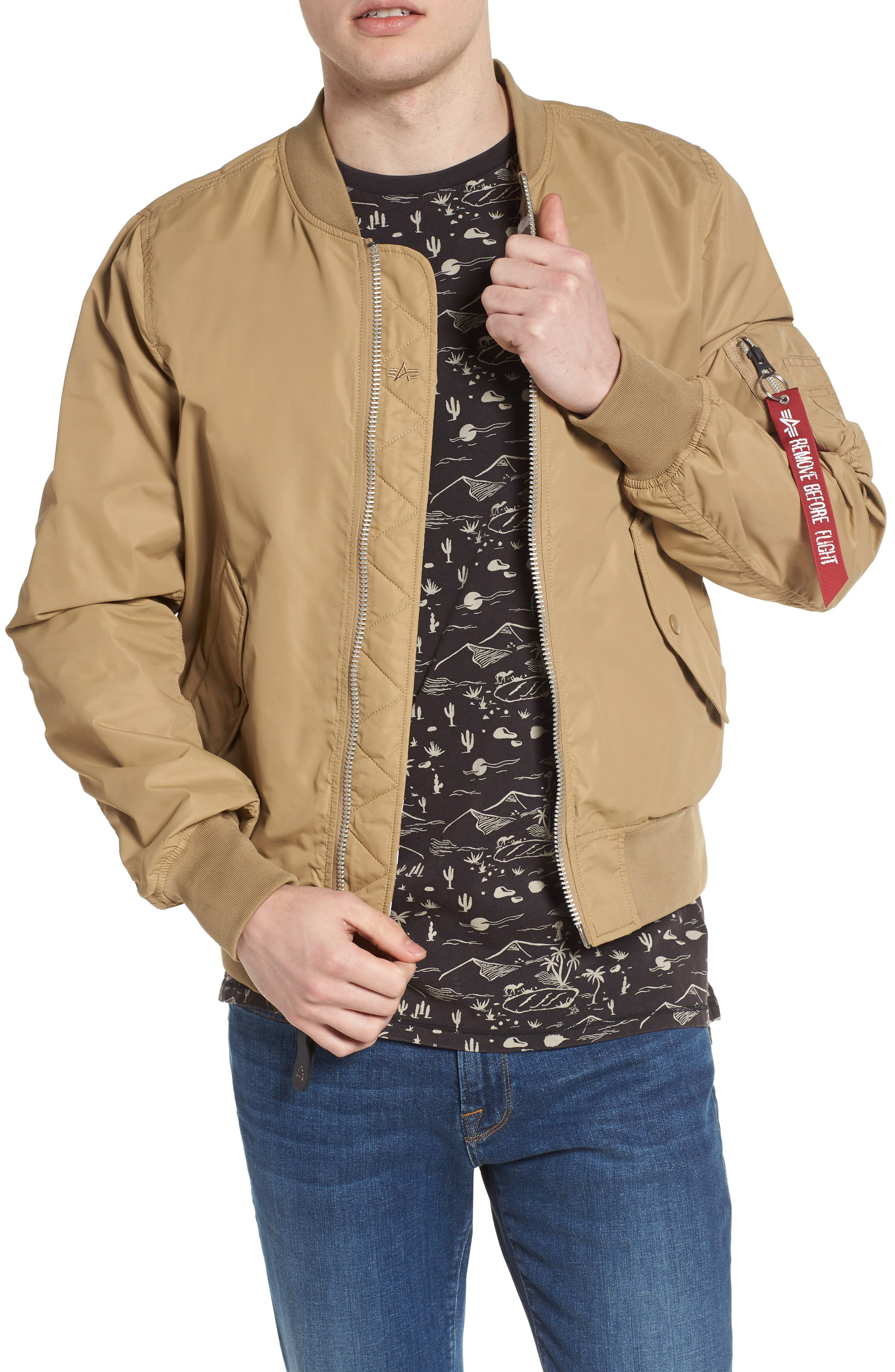 LB-2 Scout Reversible Flight Jacket,                             Main thumbnail 2, color,