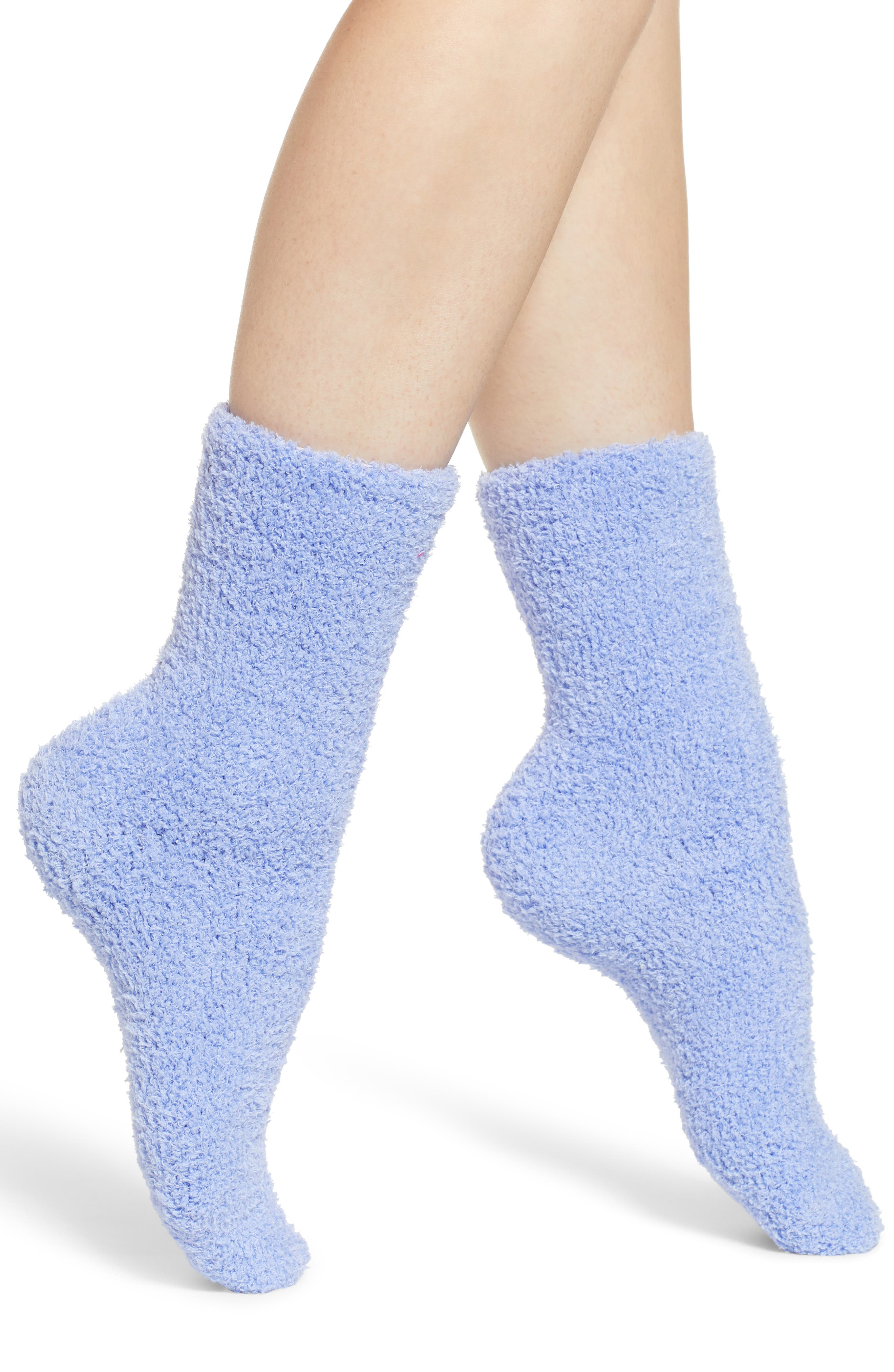 Butter Crew Socks,                         Main,                         color, BLUE HYDRANGEA