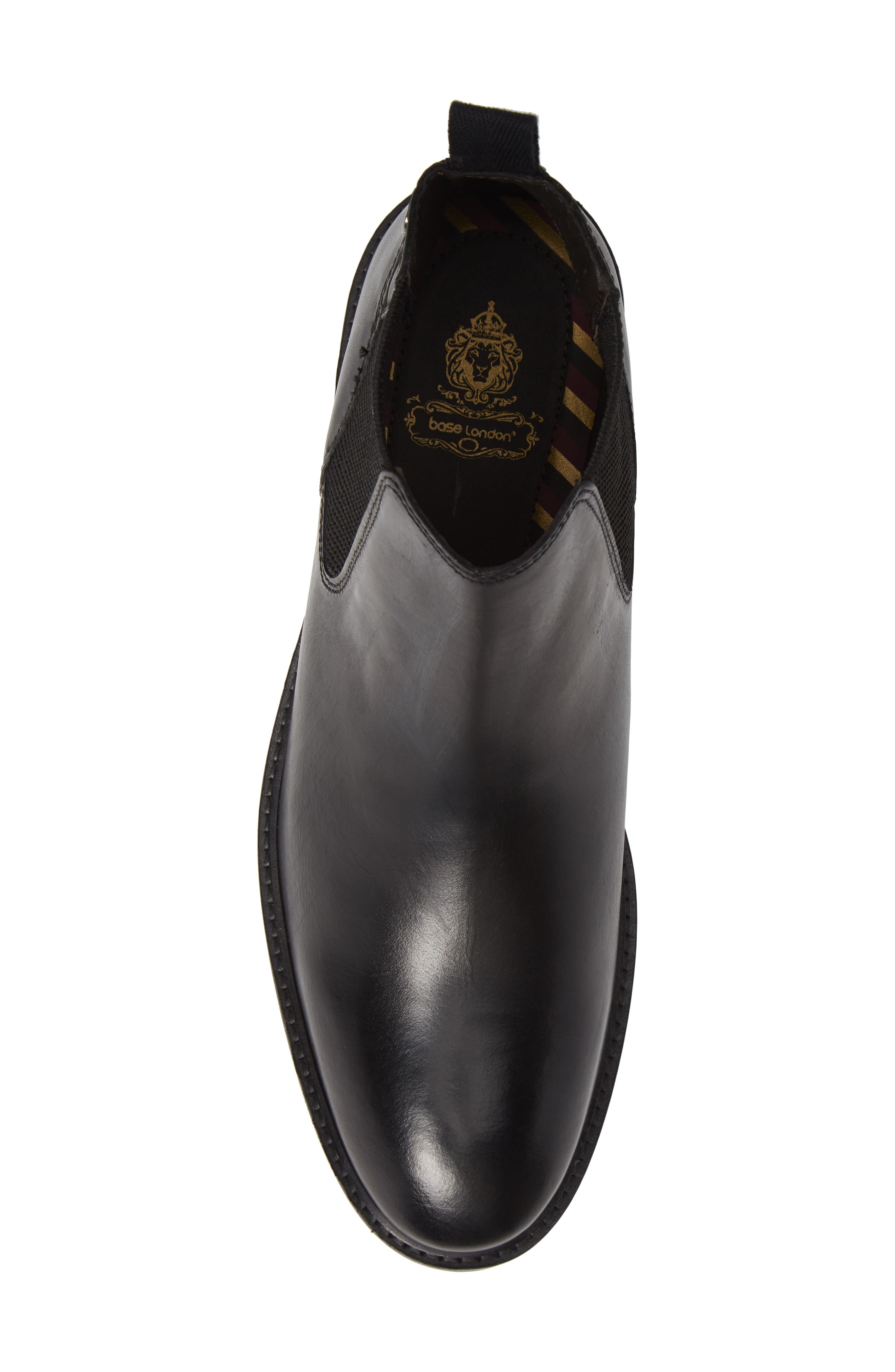 Kingsley Chelsea Boot,                             Alternate thumbnail 5, color,                             BLACK