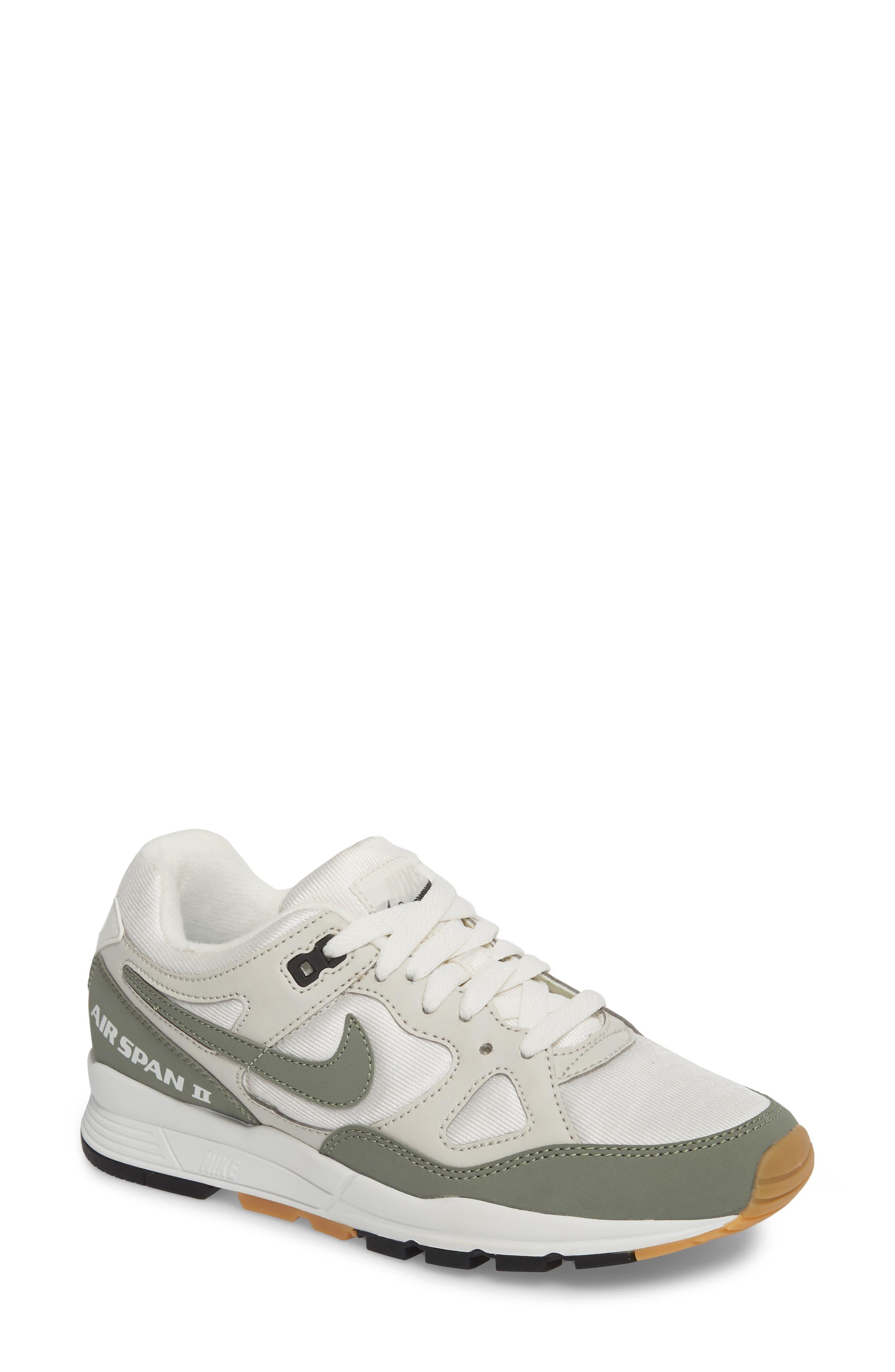NIKE,                             Air Span II Sneaker,                             Main thumbnail 1, color,                             020