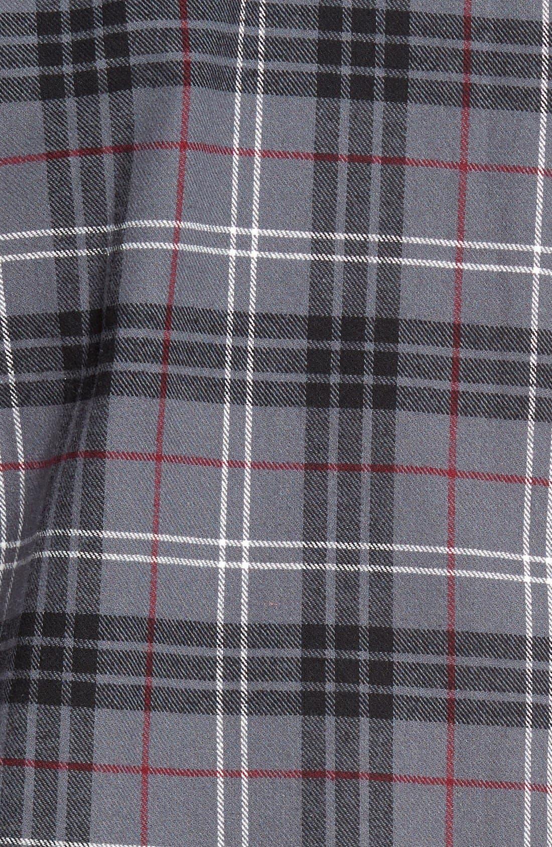 '824' Flannel Pajama Set,                             Alternate thumbnail 109, color,
