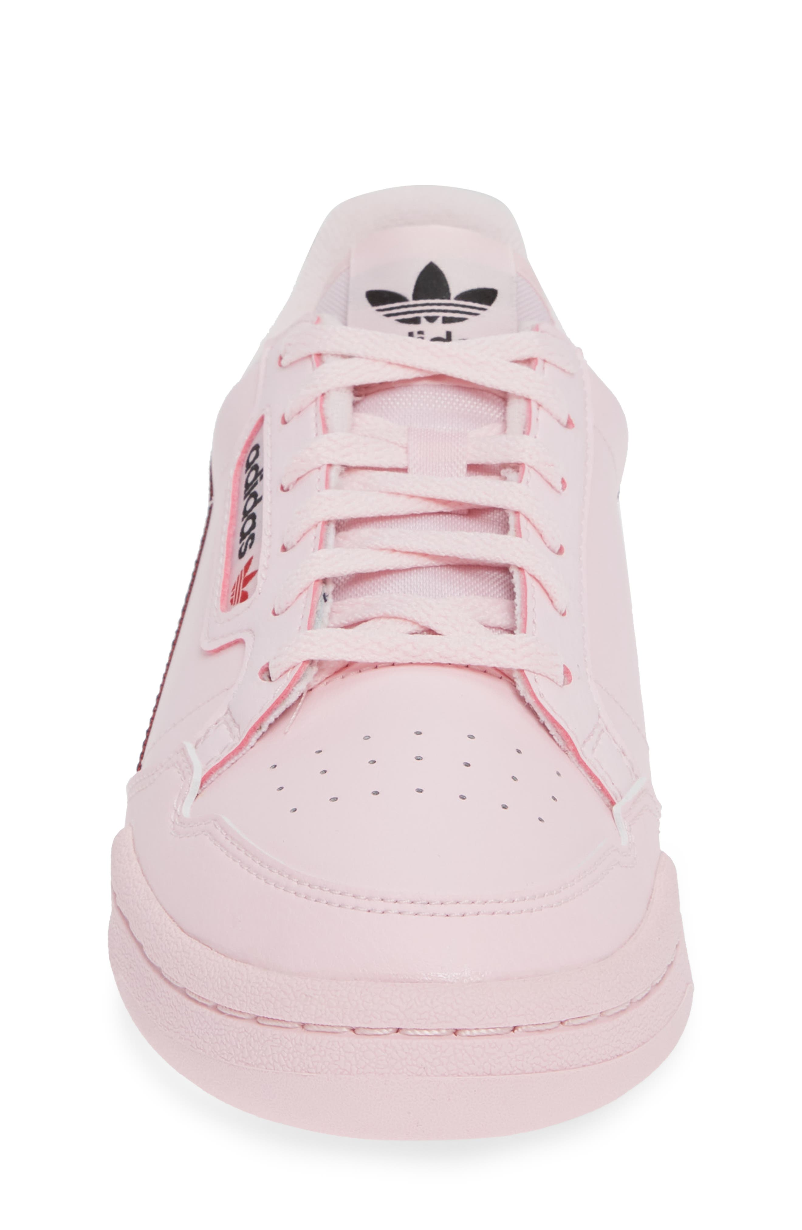 ADIDAS,                             Continental 80 Sneaker,                             Alternate thumbnail 4, color,                             CLEAR PINK