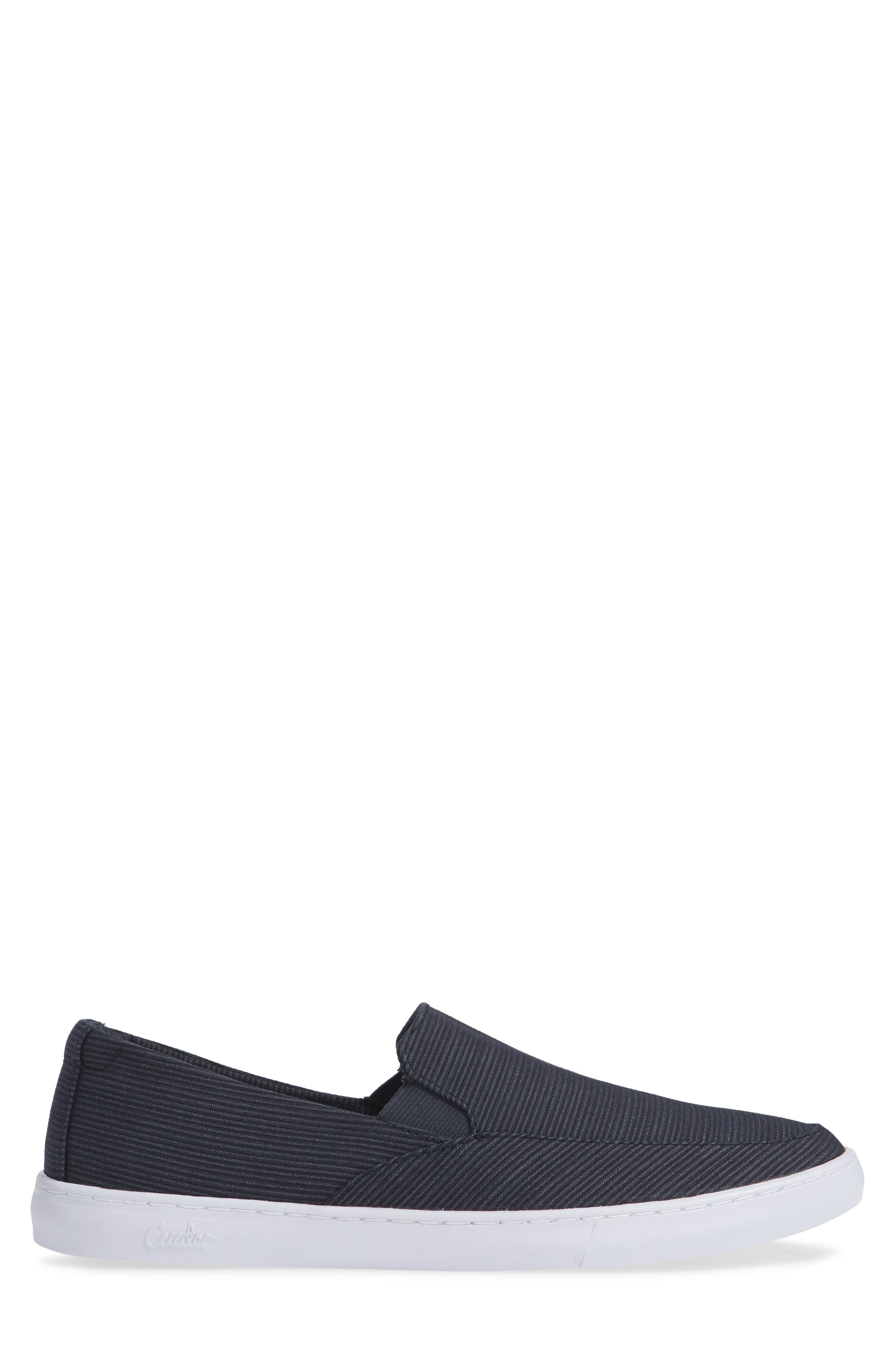 Cuater by Travis Mathew  Tracers Slip-On Sneaker,                             Alternate thumbnail 3, color,                             BLUE NIGHTS