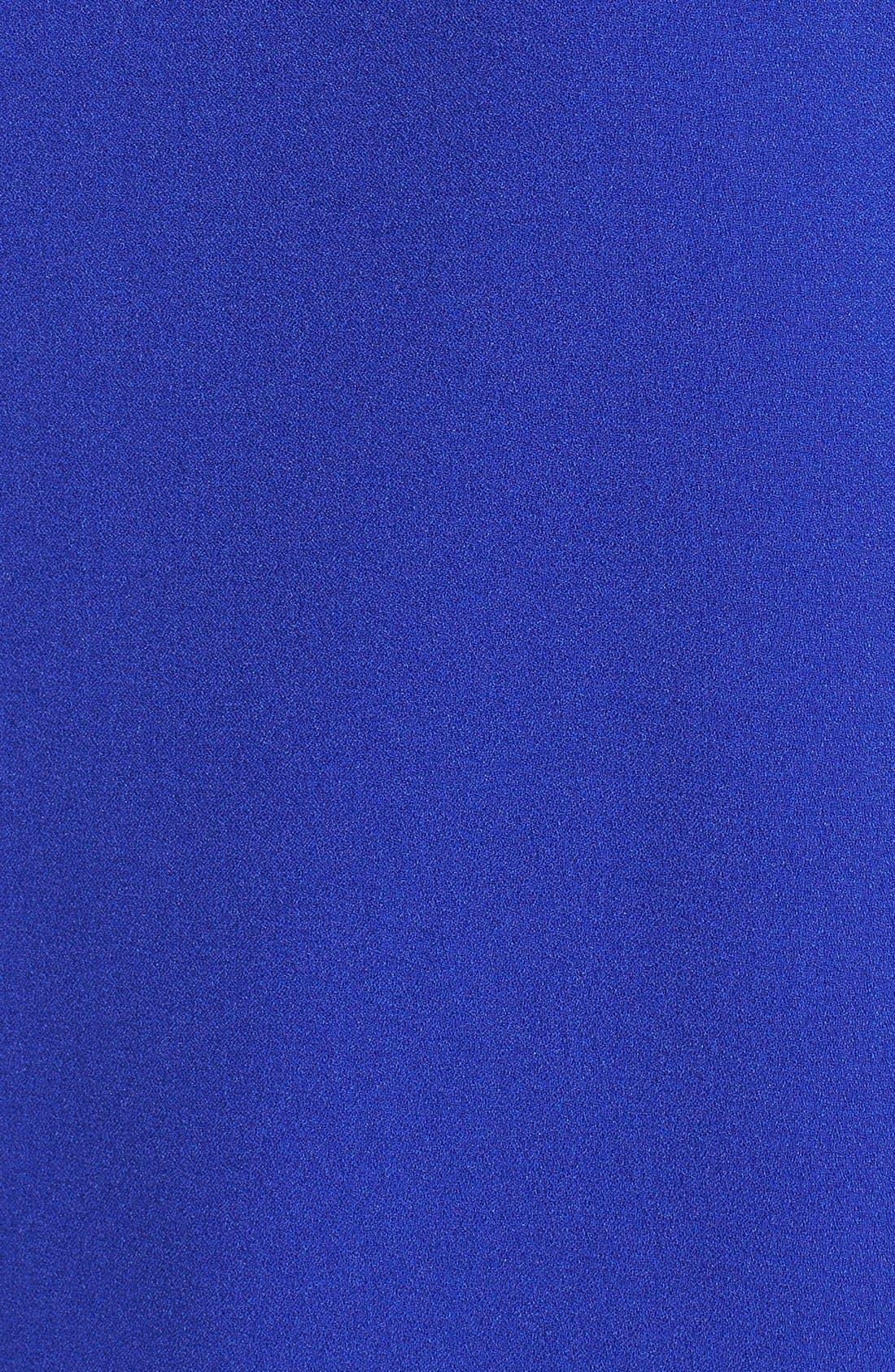 'Peek-A-Boo' Cold Shoulder Shift Dress,                             Alternate thumbnail 6, color,