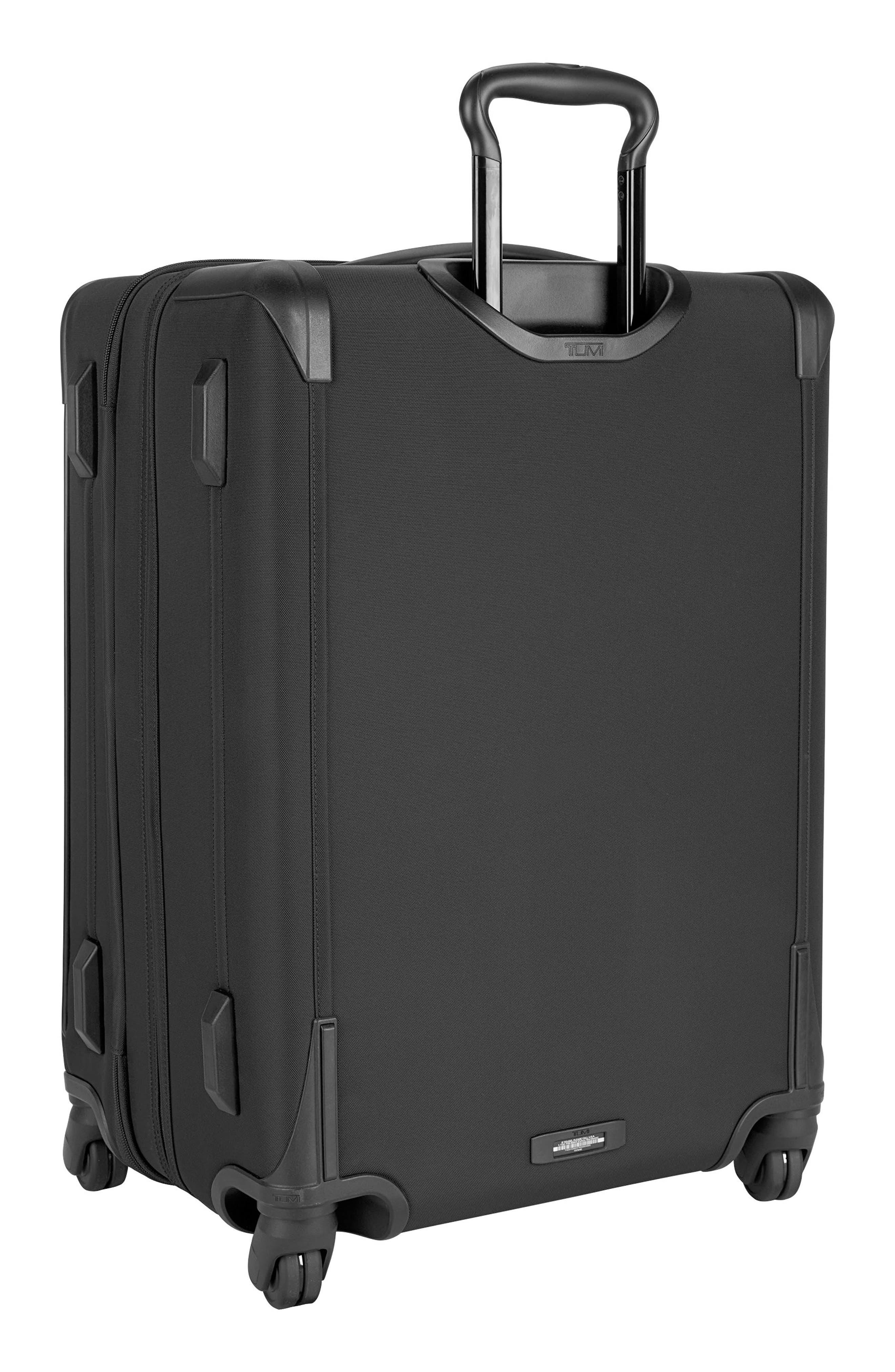 Larkin - Jess Short Trip 26-Inch Expandable 4-Wheel Suitcase,                             Alternate thumbnail 4, color,                             BLACK