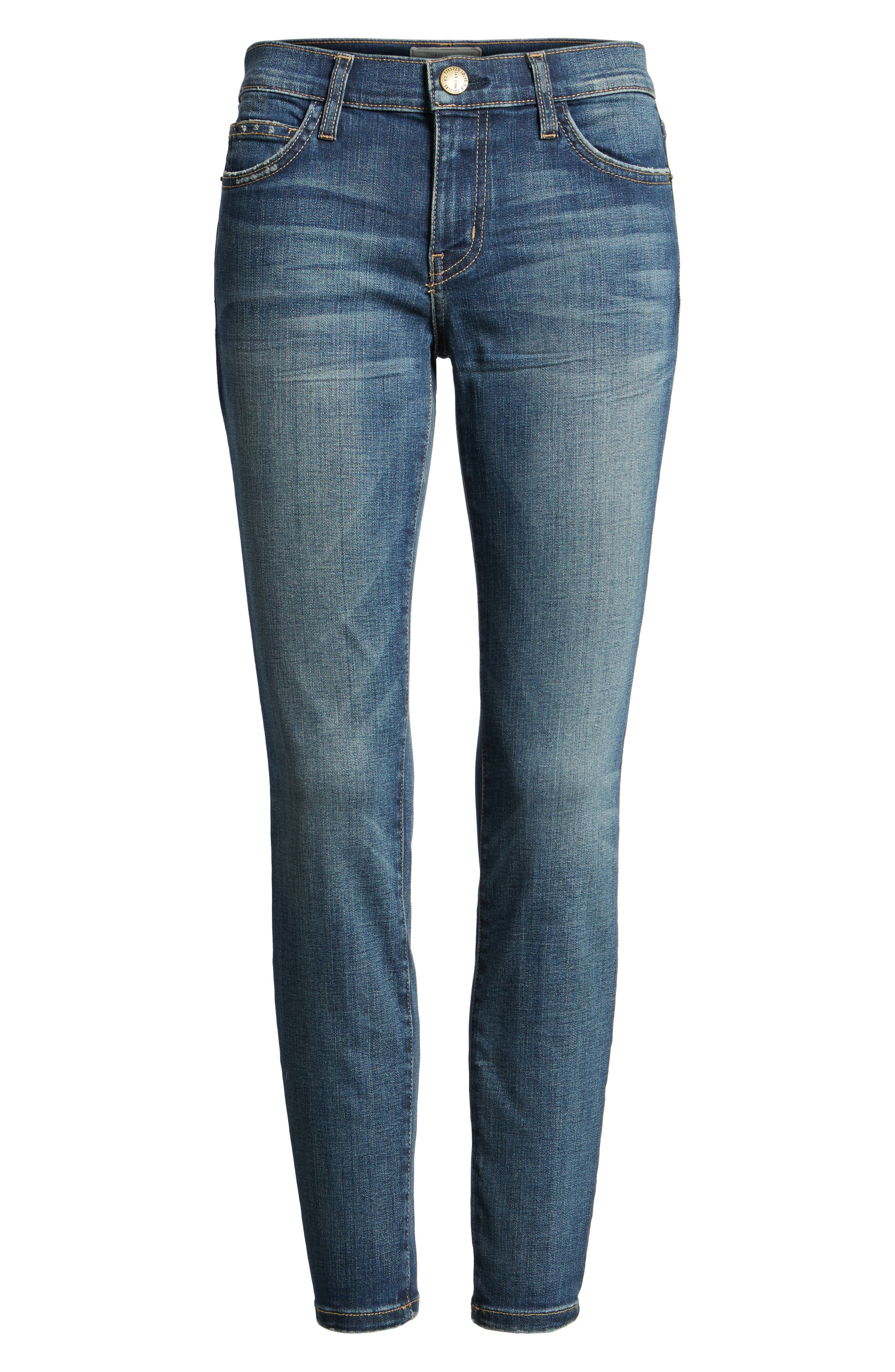 'The Stiletto' Stretch Jeans,                             Alternate thumbnail 7, color,                             477