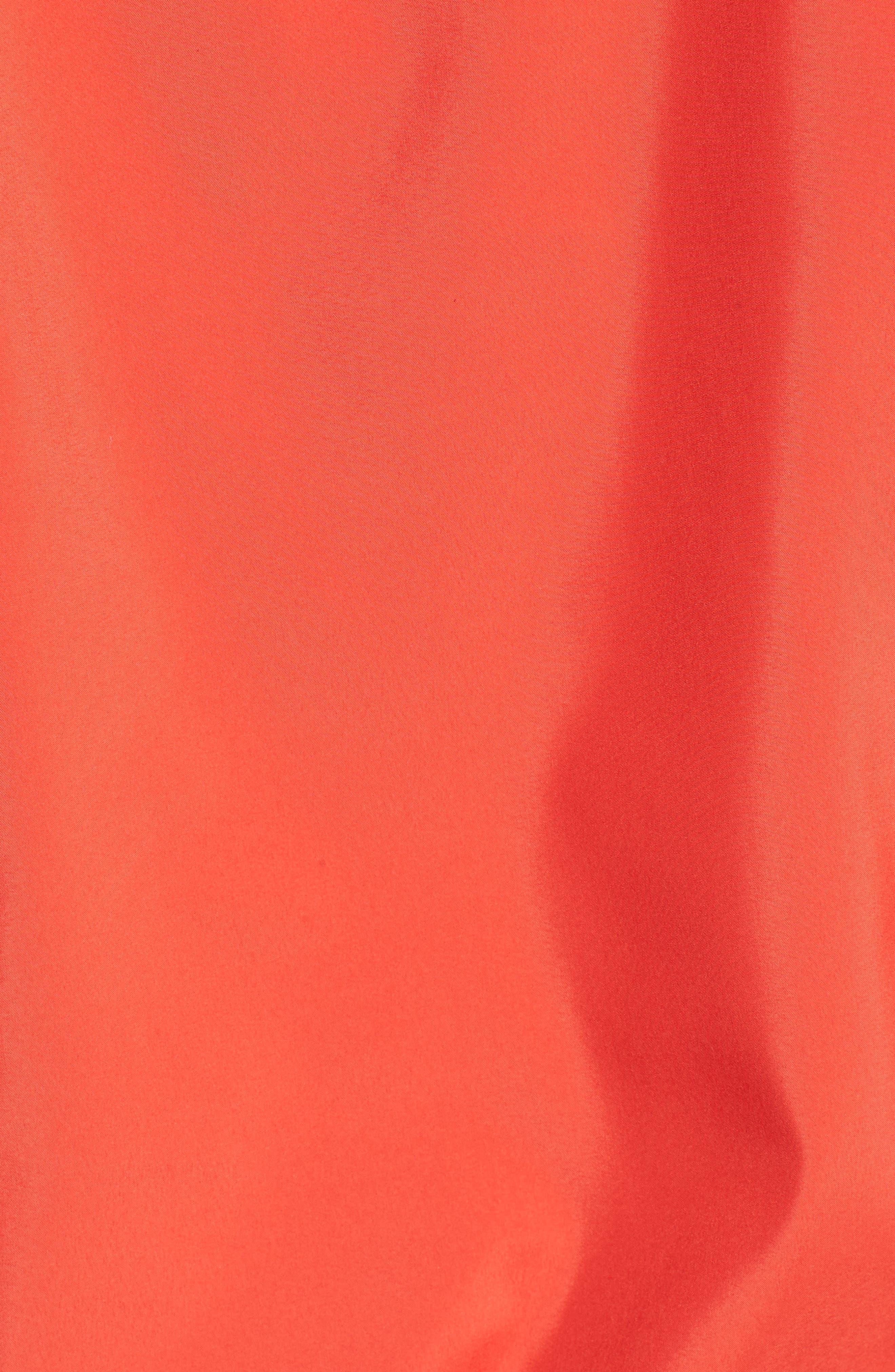 TJW Packable Summer Popover,                             Alternate thumbnail 7, color,                             POPPY RED