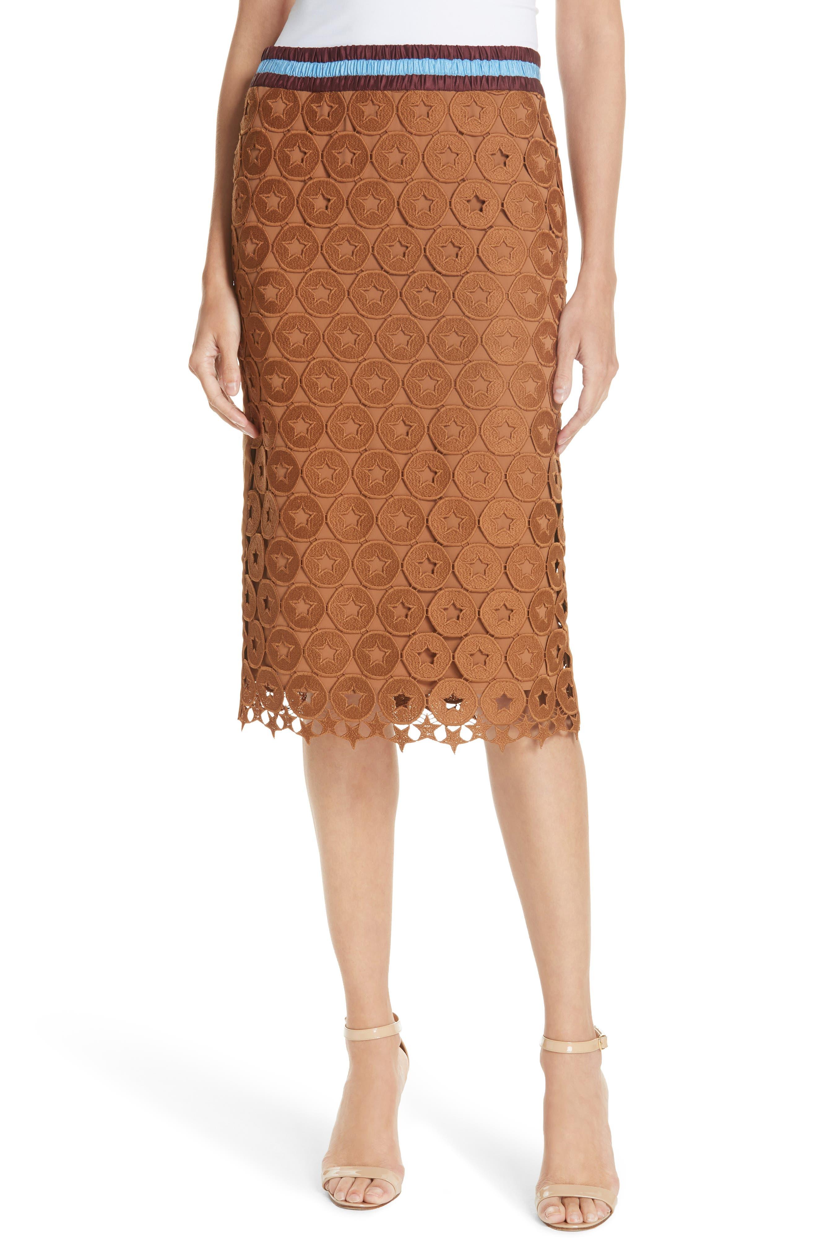 N°21,                             Lace Skirt,                             Main thumbnail 1, color,                             200