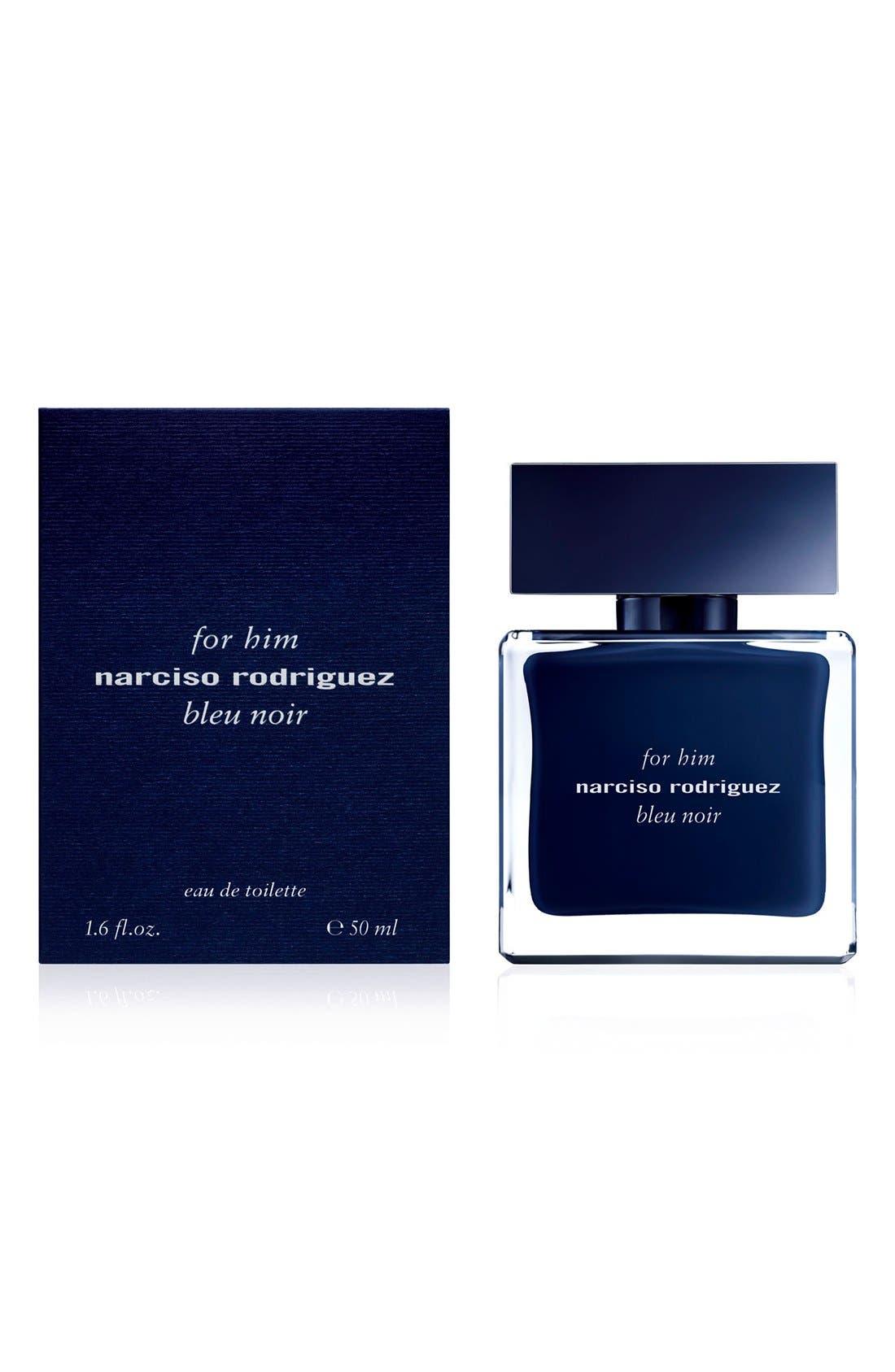 'For Him Bleu Noir' Eau de Toilette,                             Alternate thumbnail 4, color,                             000