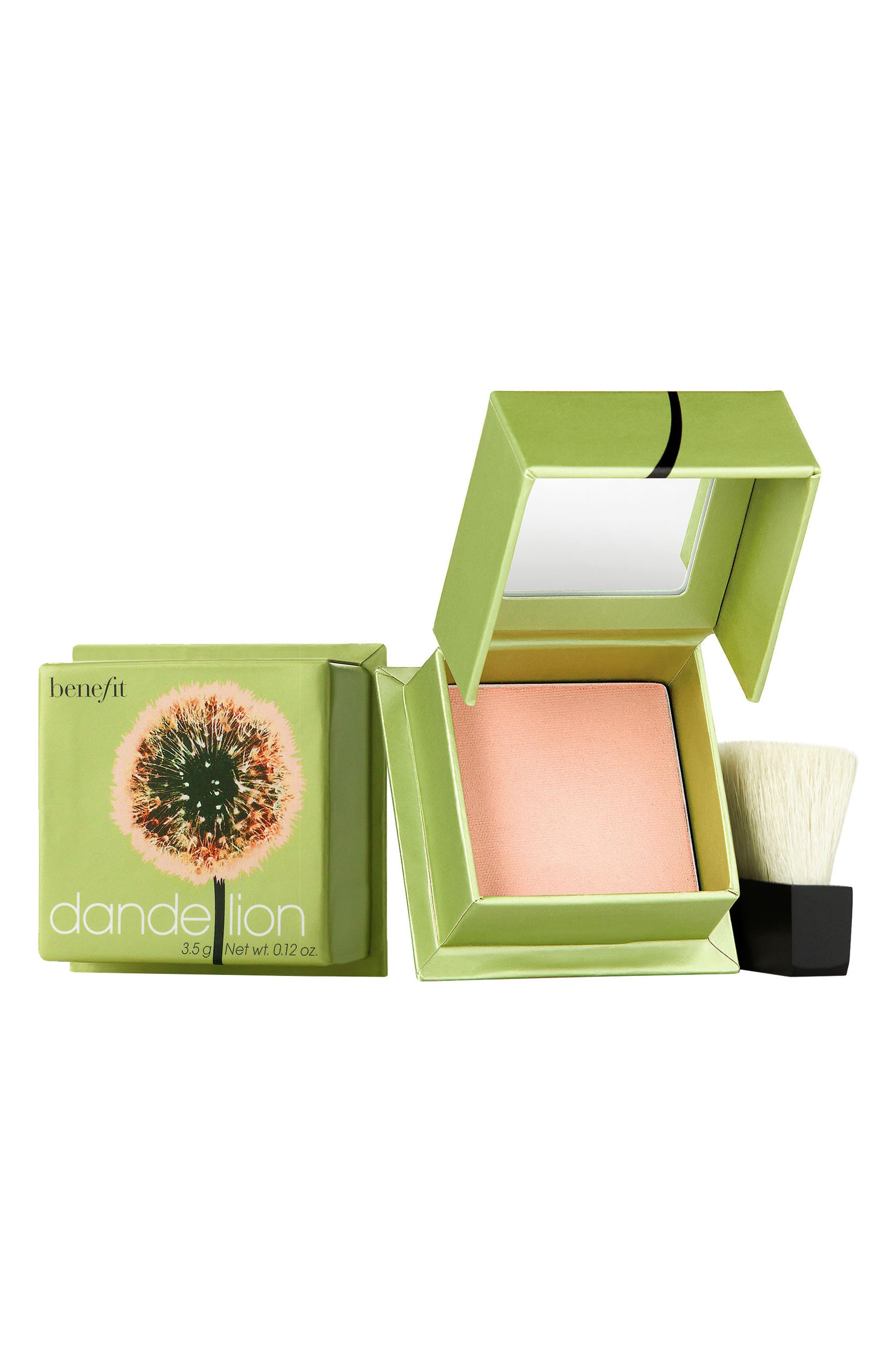 Benefit Dandelion Brightening Powder Blush,                             Main thumbnail 1, color,                             BABY PINK