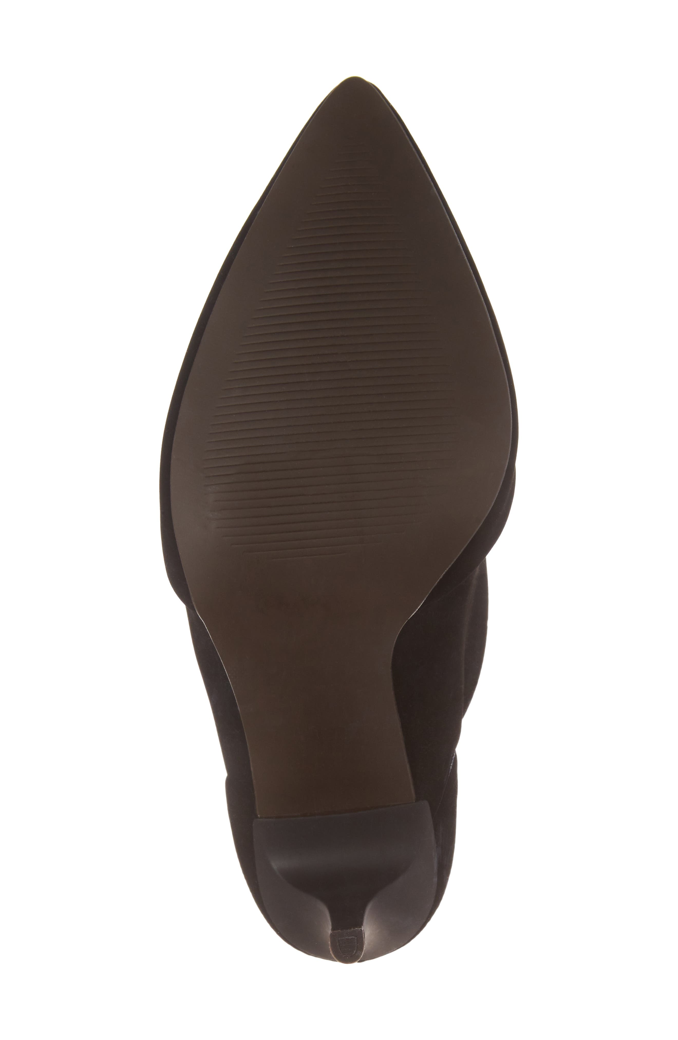 Hubba Pointy Toe Bootie,                             Alternate thumbnail 6, color,                             001