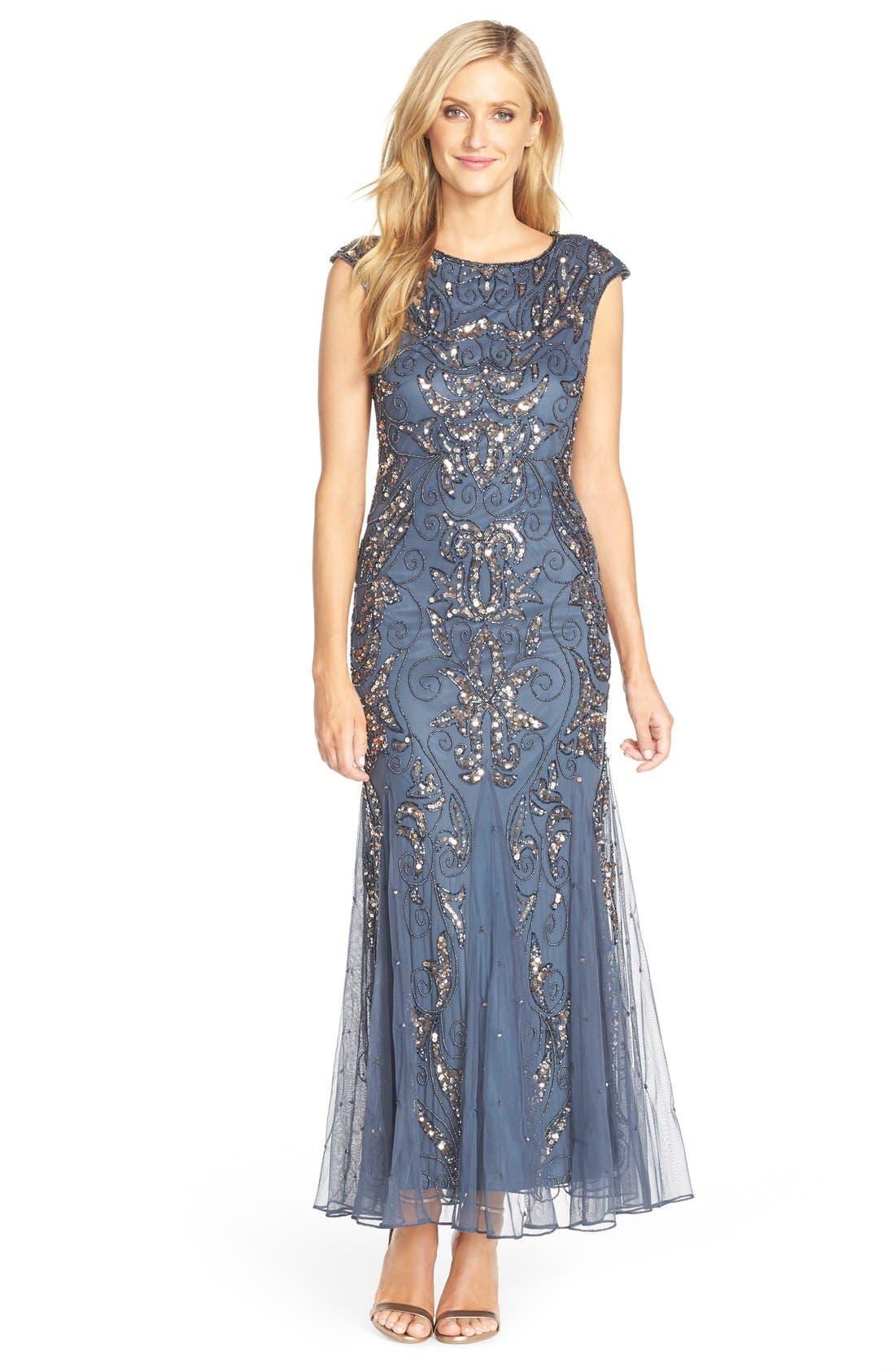 Mermaid Gown,                         Main,                         color,