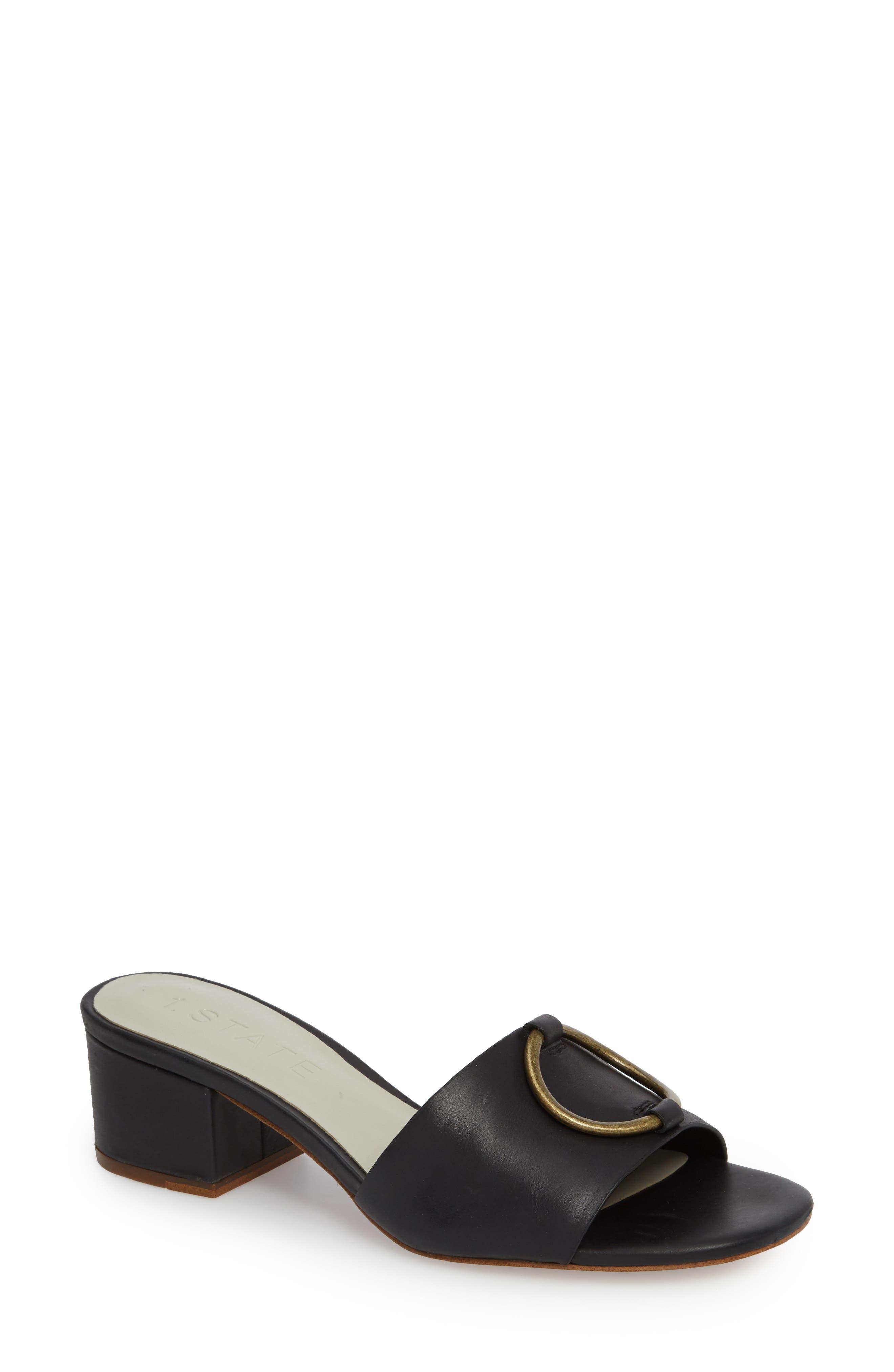 Jacale Slide Sandal,                             Main thumbnail 1, color,                             001