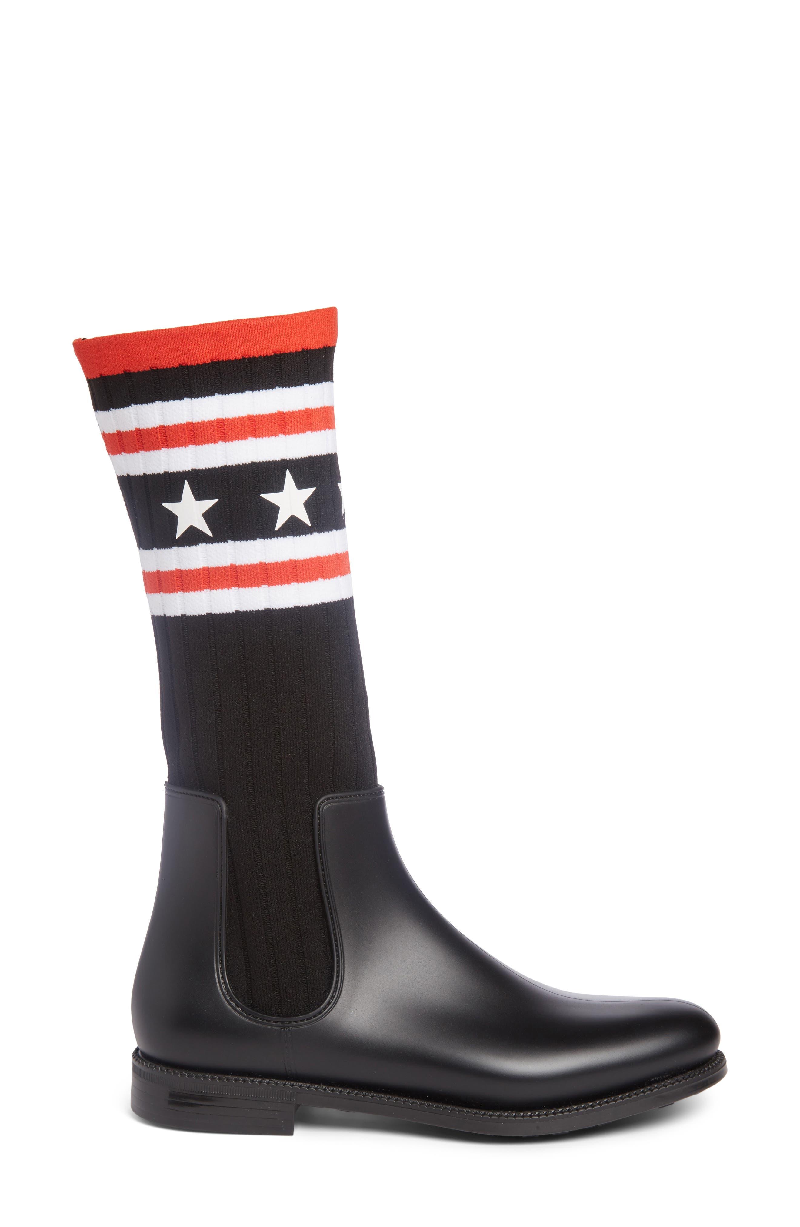 Storm Chelsea Sock Boot,                             Alternate thumbnail 3, color,                             009