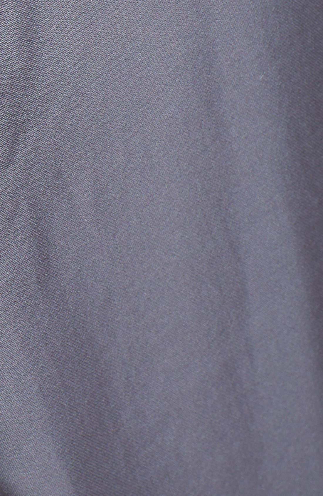 Donna Karan Plush Lined Robe,                             Alternate thumbnail 3, color,                             023