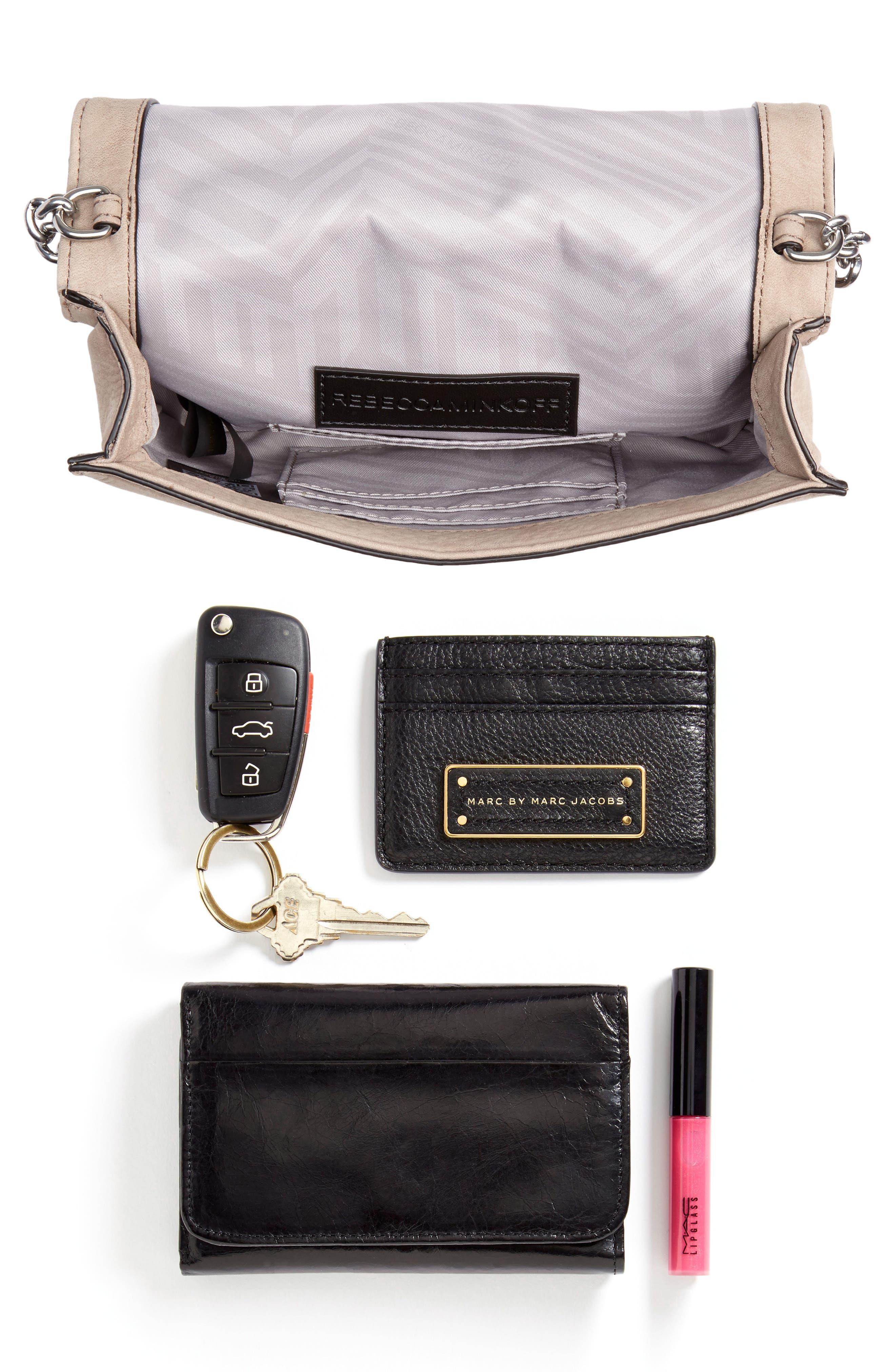 Small Love Nubuck Leather Crossbody Bag,                             Alternate thumbnail 31, color,