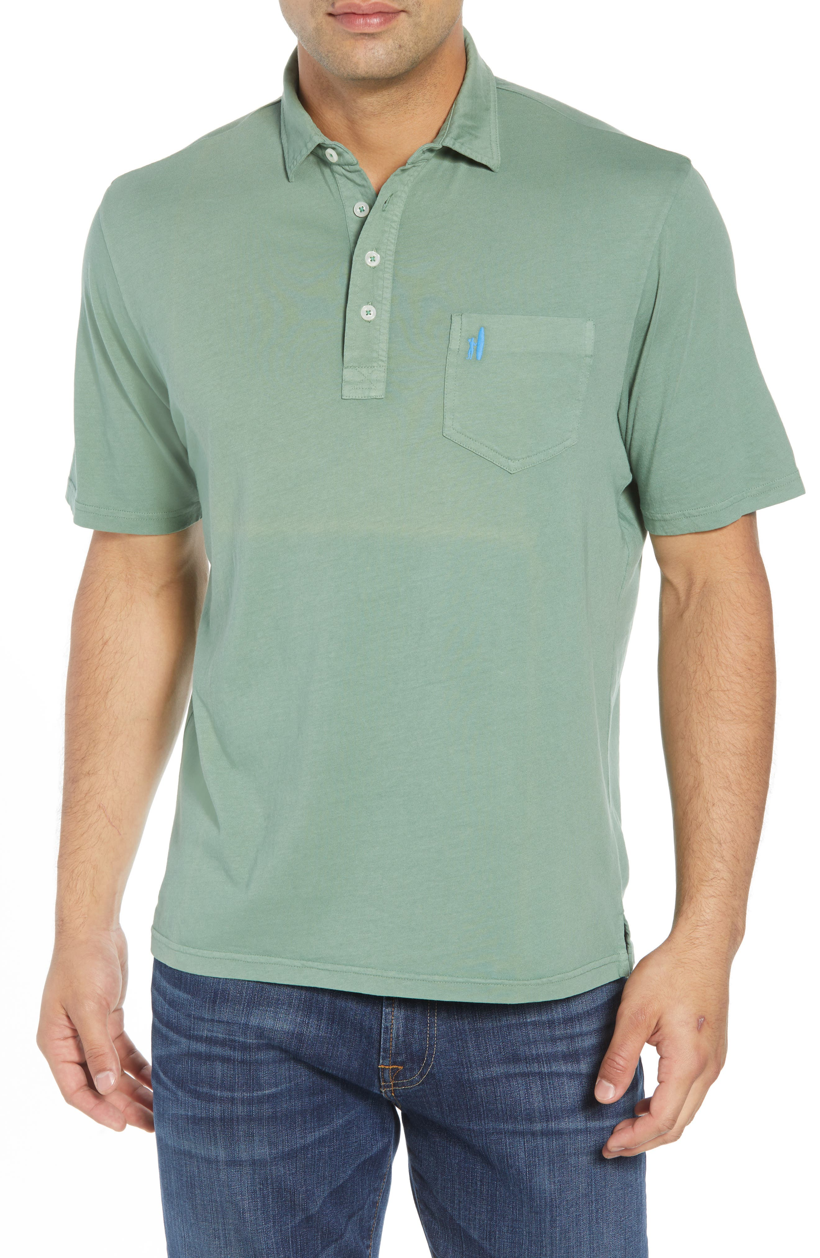 Original Regular Fit Garment Dyed Polo,                         Main,                         color, 318