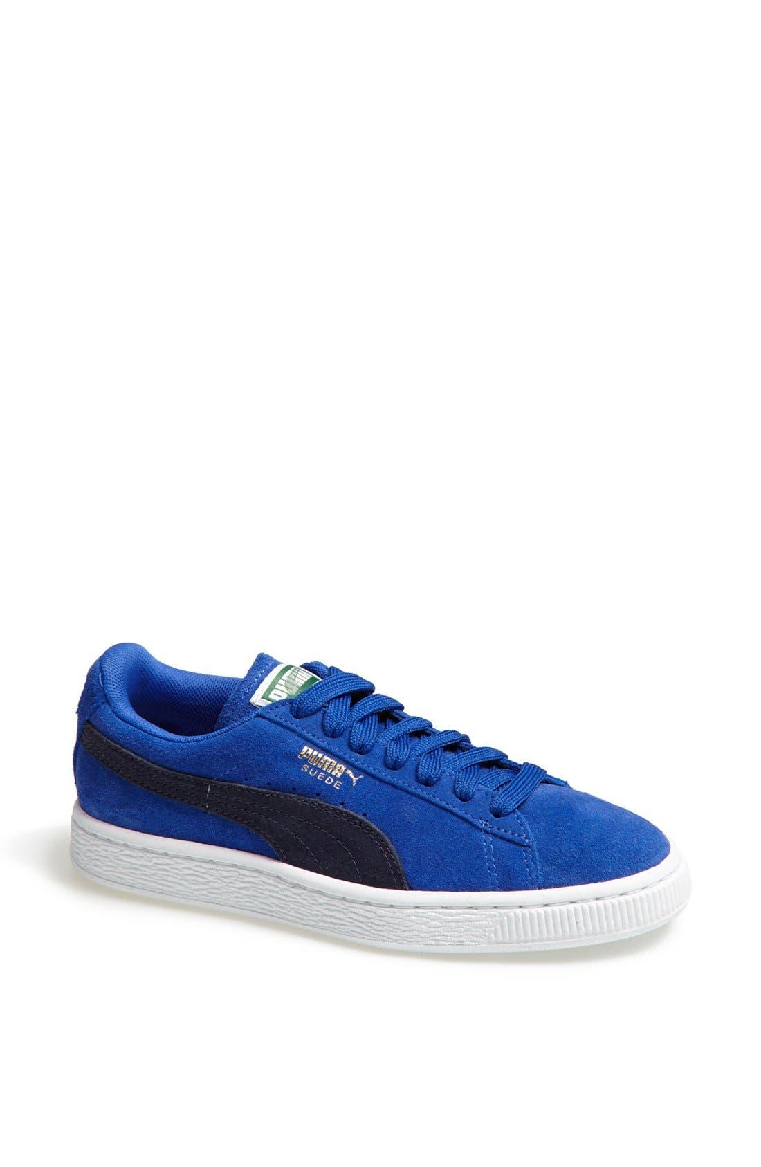 Suede Sneaker,                             Main thumbnail 18, color,