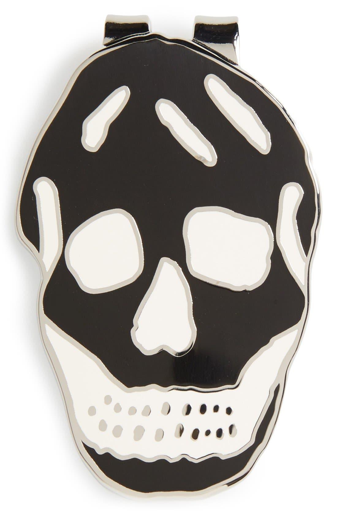 Skull Money Clip,                         Main,                         color, 001