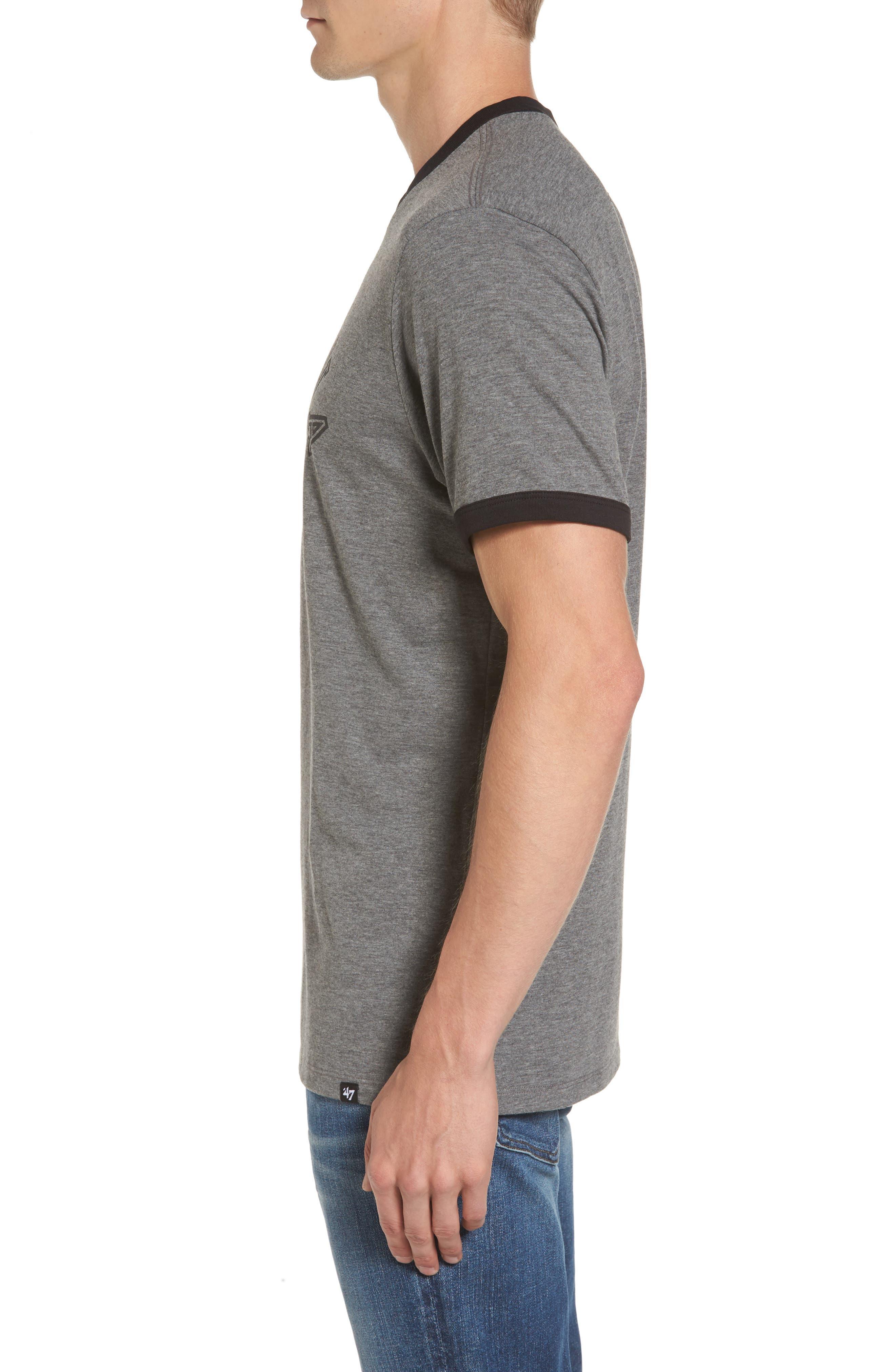 Carolina Panthers Ringer T-Shirt,                             Alternate thumbnail 3, color,                             021