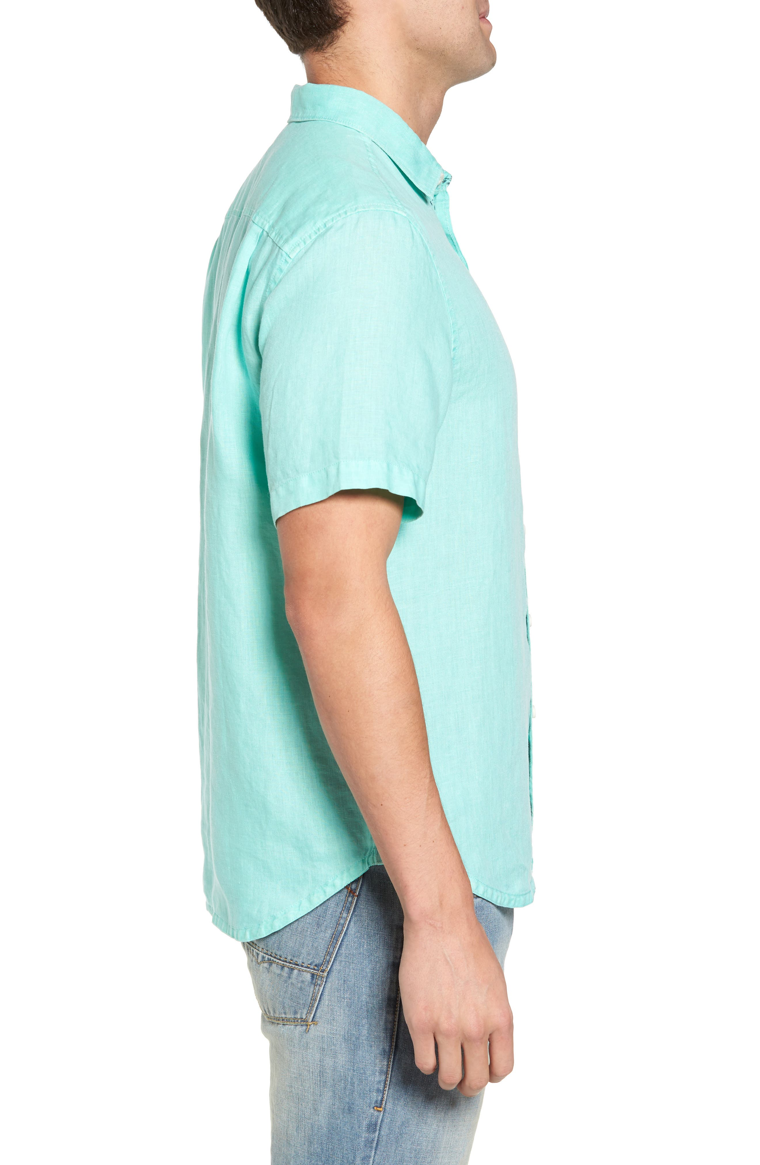 Seaspray Breezer Regular Fit Linen Sport Shirt,                             Alternate thumbnail 12, color,