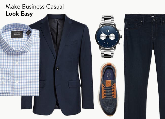 Make business casual look easy.