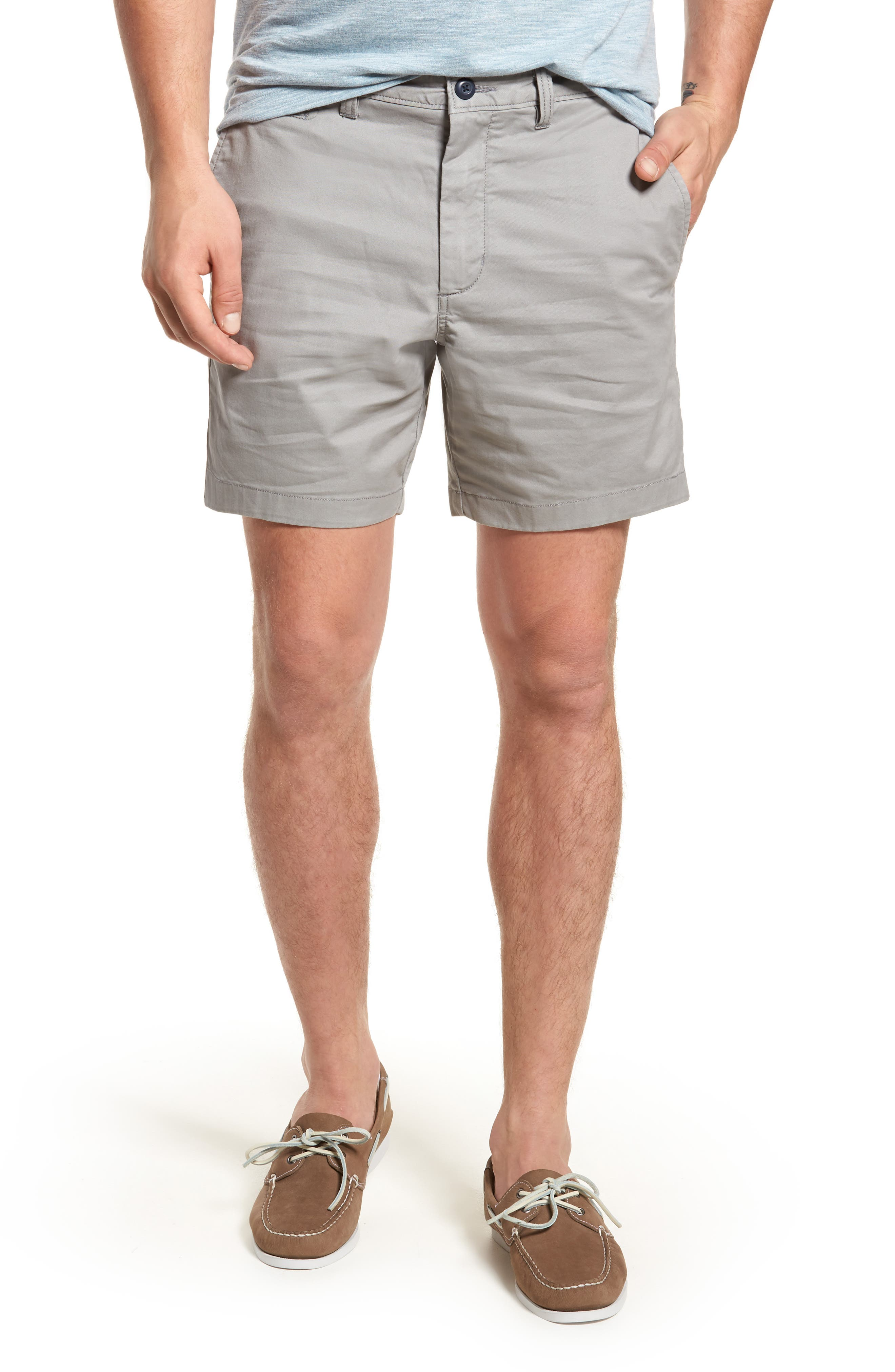 Ballard Slim Fit Stretch Chino 7-Inch Shorts,                             Main thumbnail 1, color,