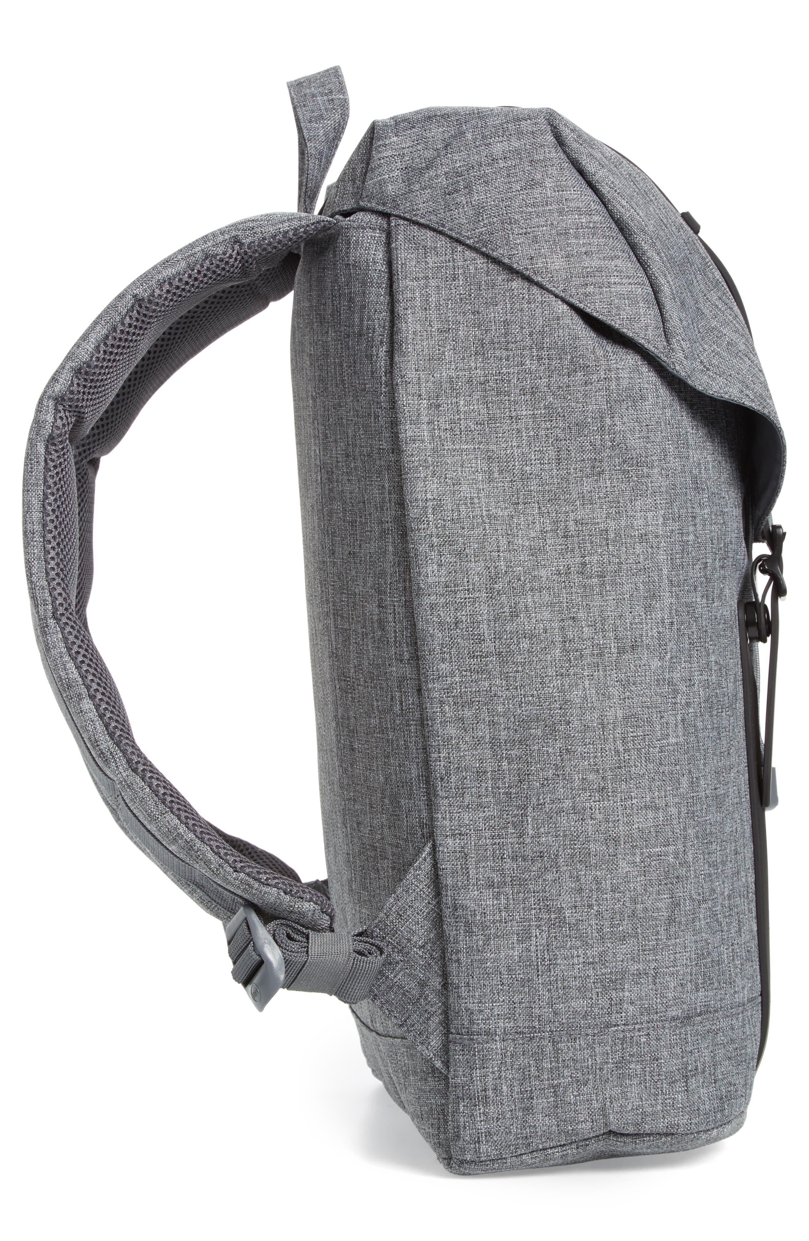 Retreat Backpack,                             Alternate thumbnail 5, color,                             RAVEN CROSSHATCH