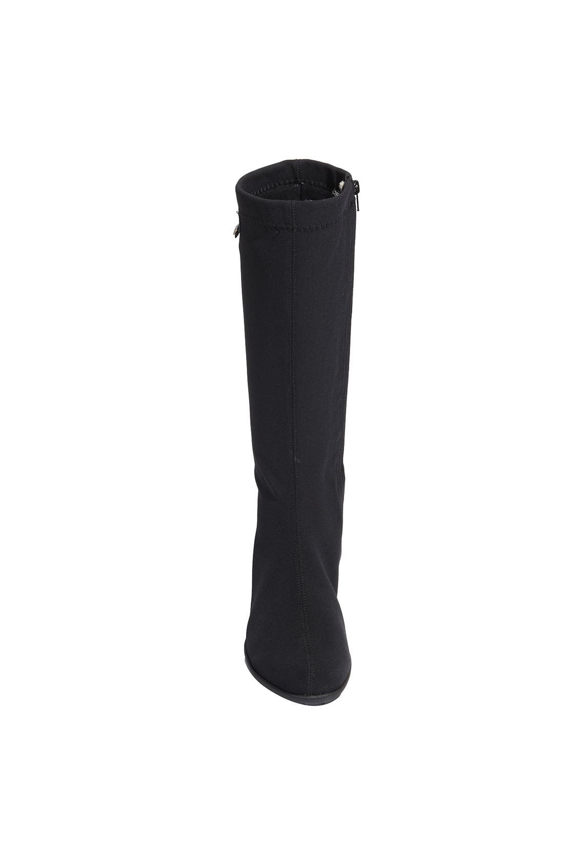 'Linda' Waterproof Stretch Boot,                             Alternate thumbnail 5, color,                             009