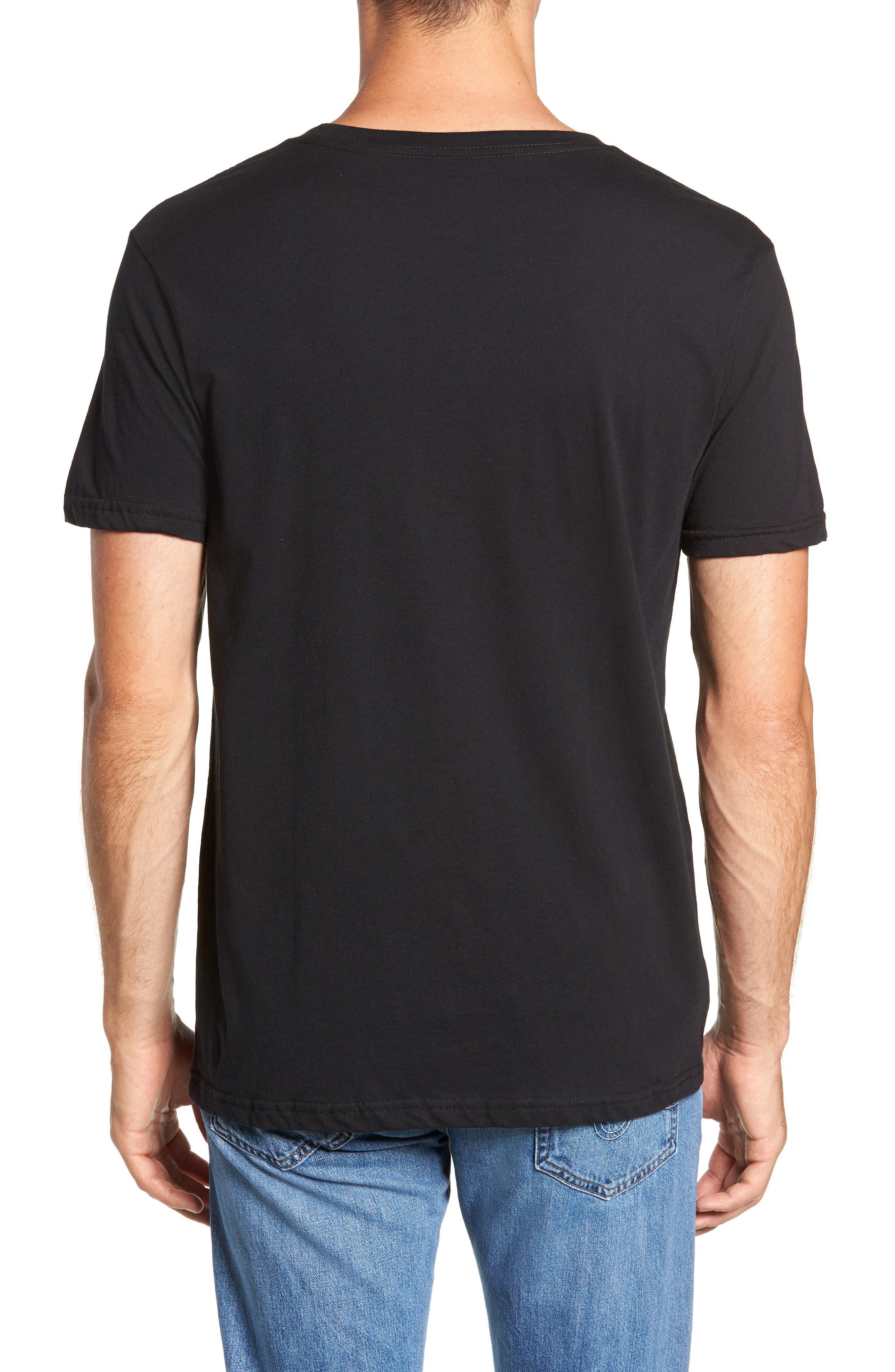 Geologers Organic Cotton T-Shirt,                             Alternate thumbnail 2, color,                             BLACK