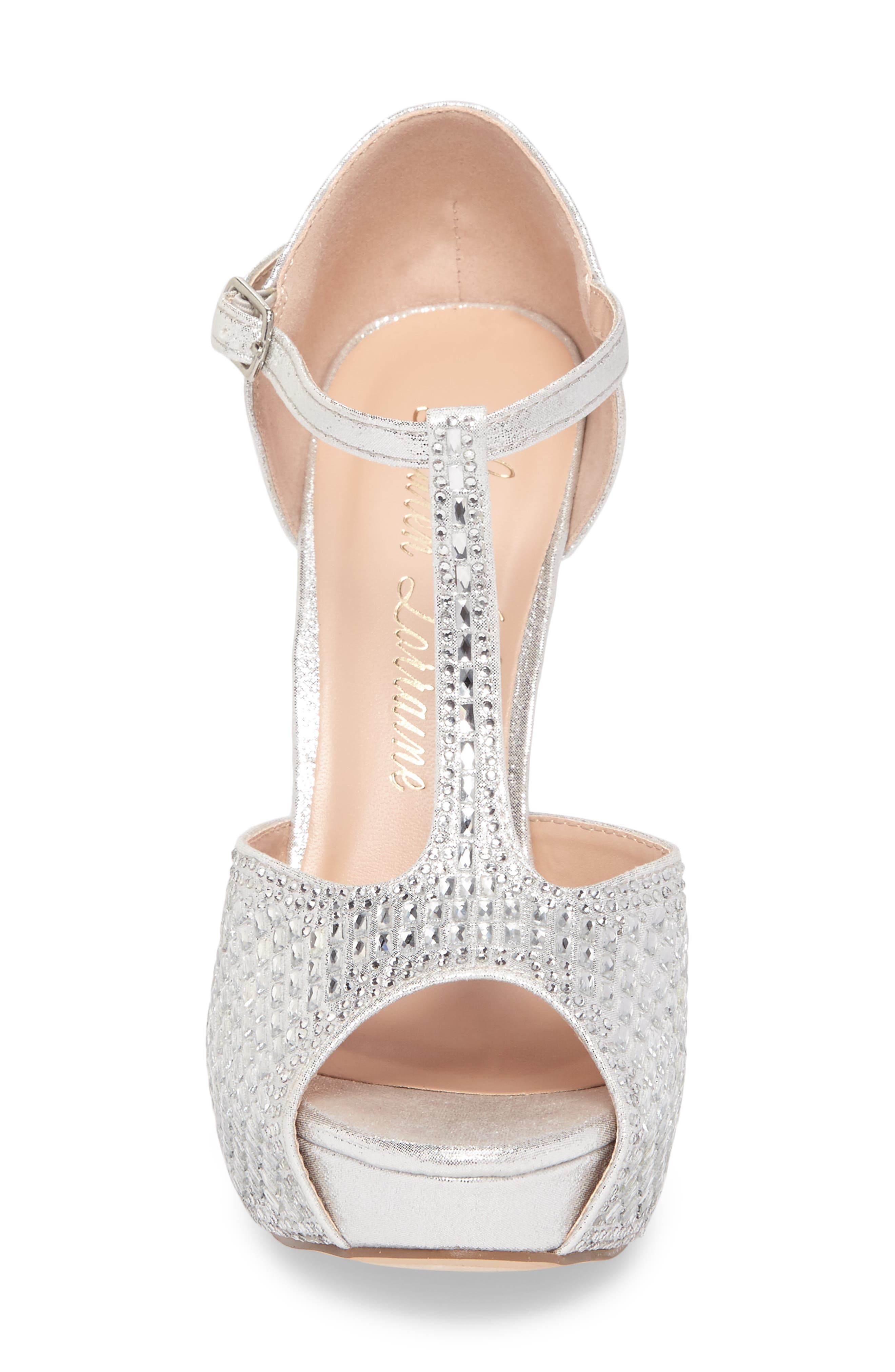 Vivian 4 Crystal Embellished Sandal,                             Alternate thumbnail 11, color,