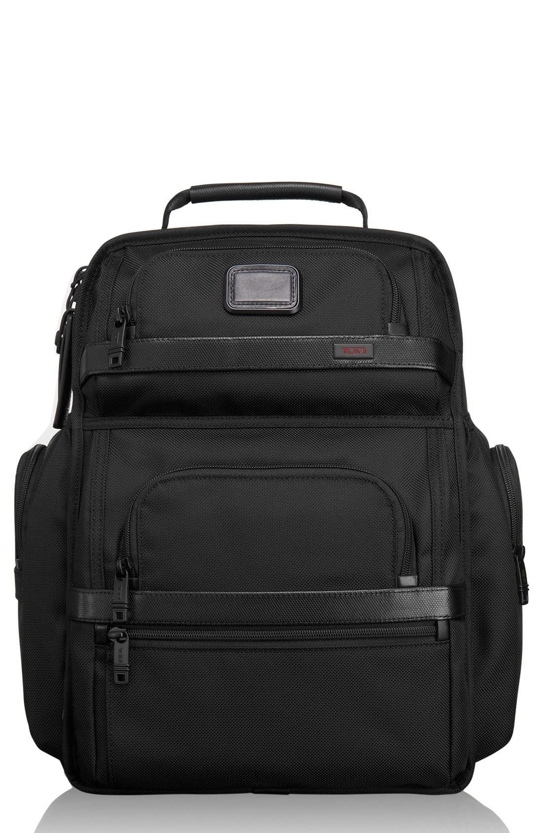 Alpha 2 T-Pass Laptop Brief Pack with Tumi ID Lock Pocket,                             Main thumbnail 1, color,                             007