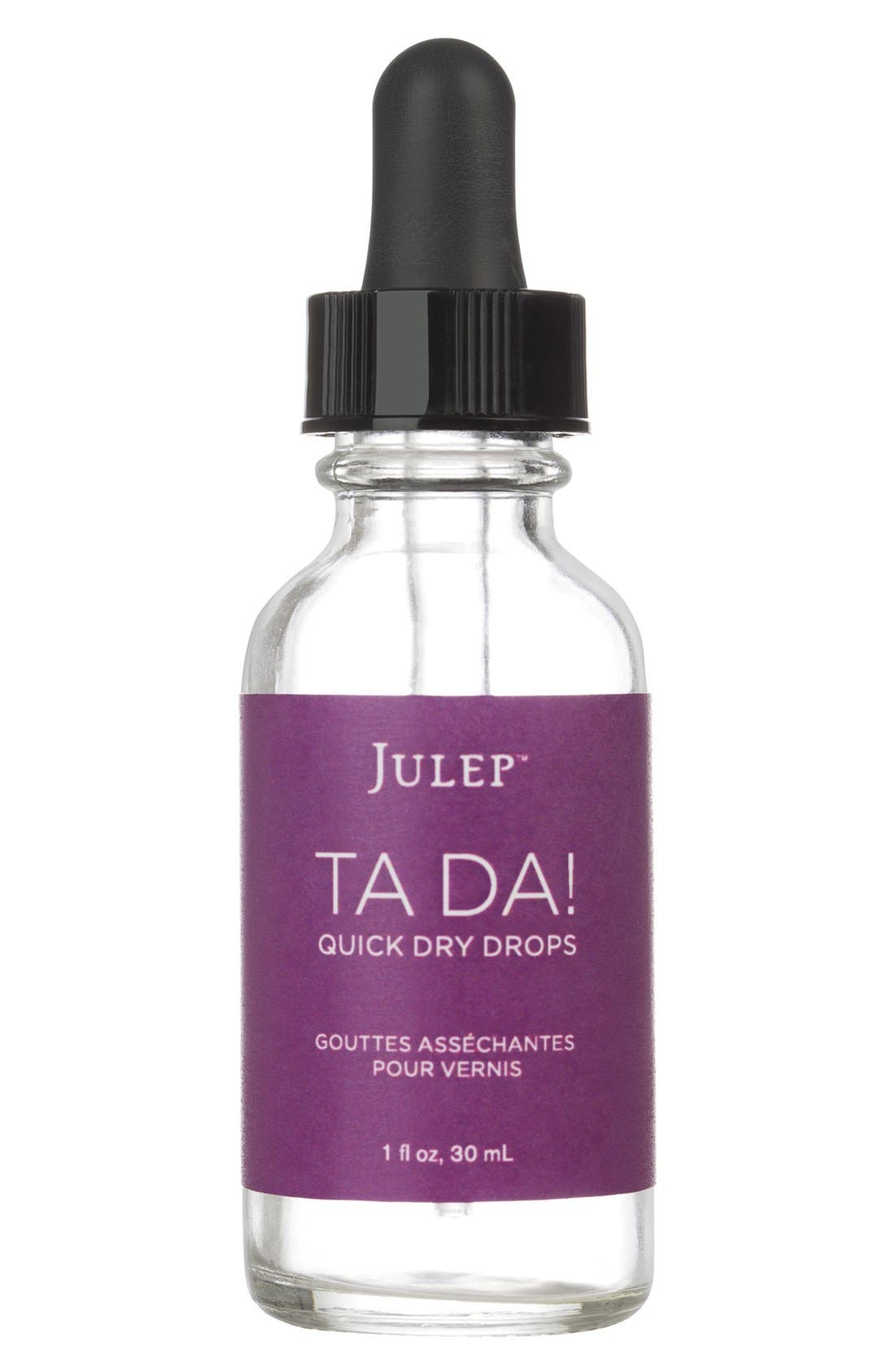 Julep<sup>™</sup> Ta-Da Quick Dry Polish Drops,                             Main thumbnail 1, color,                             000