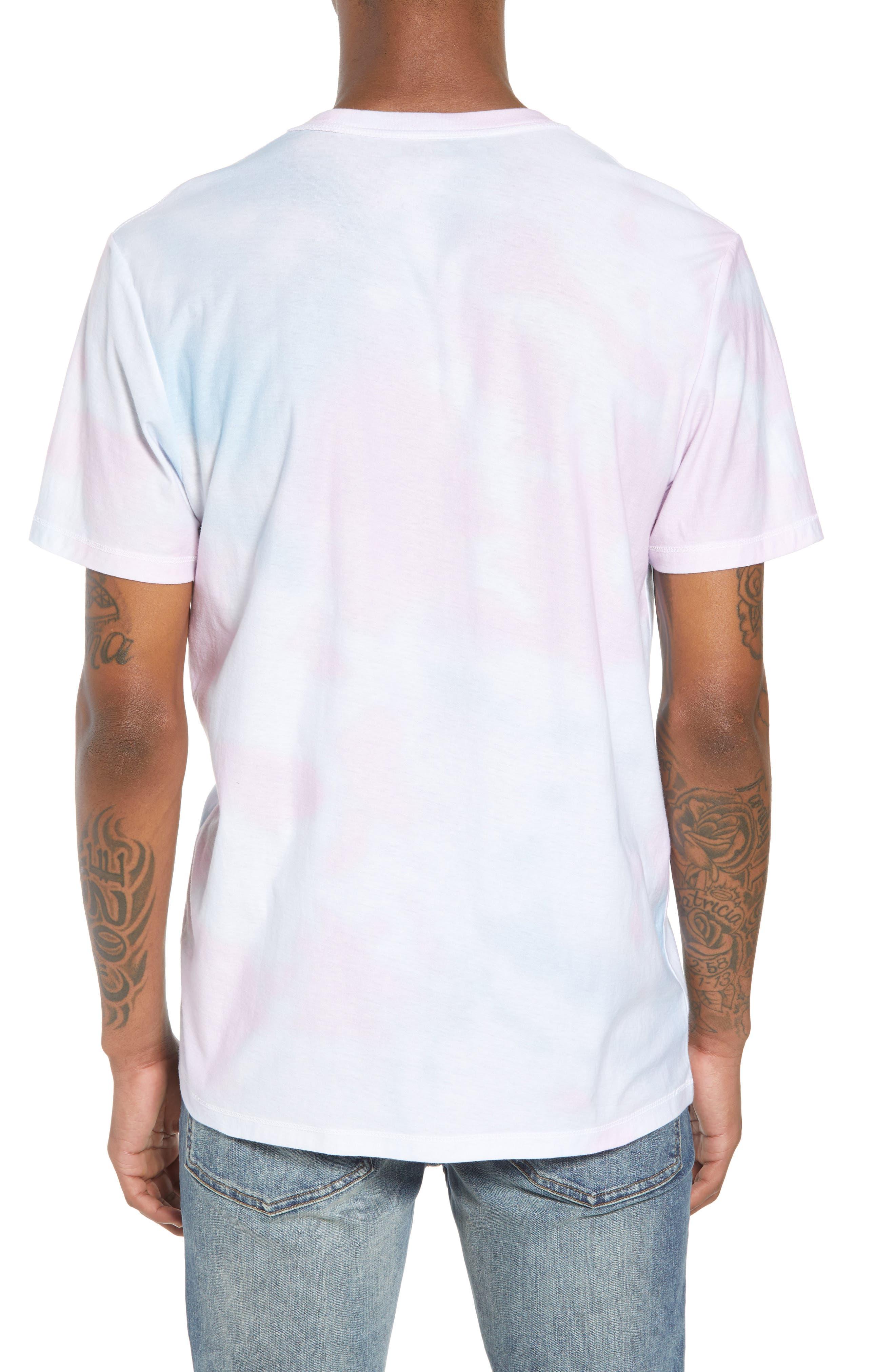 Reverse Tie Dye T-Shirt,                             Alternate thumbnail 2, color,                             100