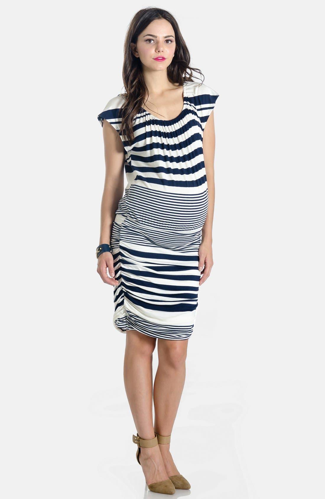 LILAC CLOTHING,                             'Mila' Maternity Dress,                             Main thumbnail 1, color,                             410