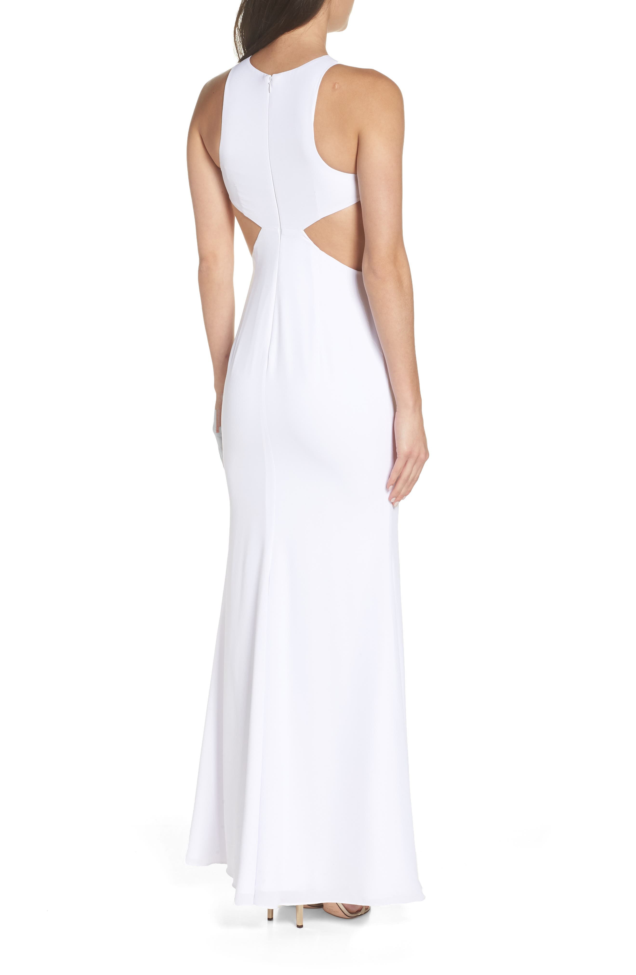 Fame & Partners The Midheaven Gown,                             Alternate thumbnail 2, color,                             WHITE