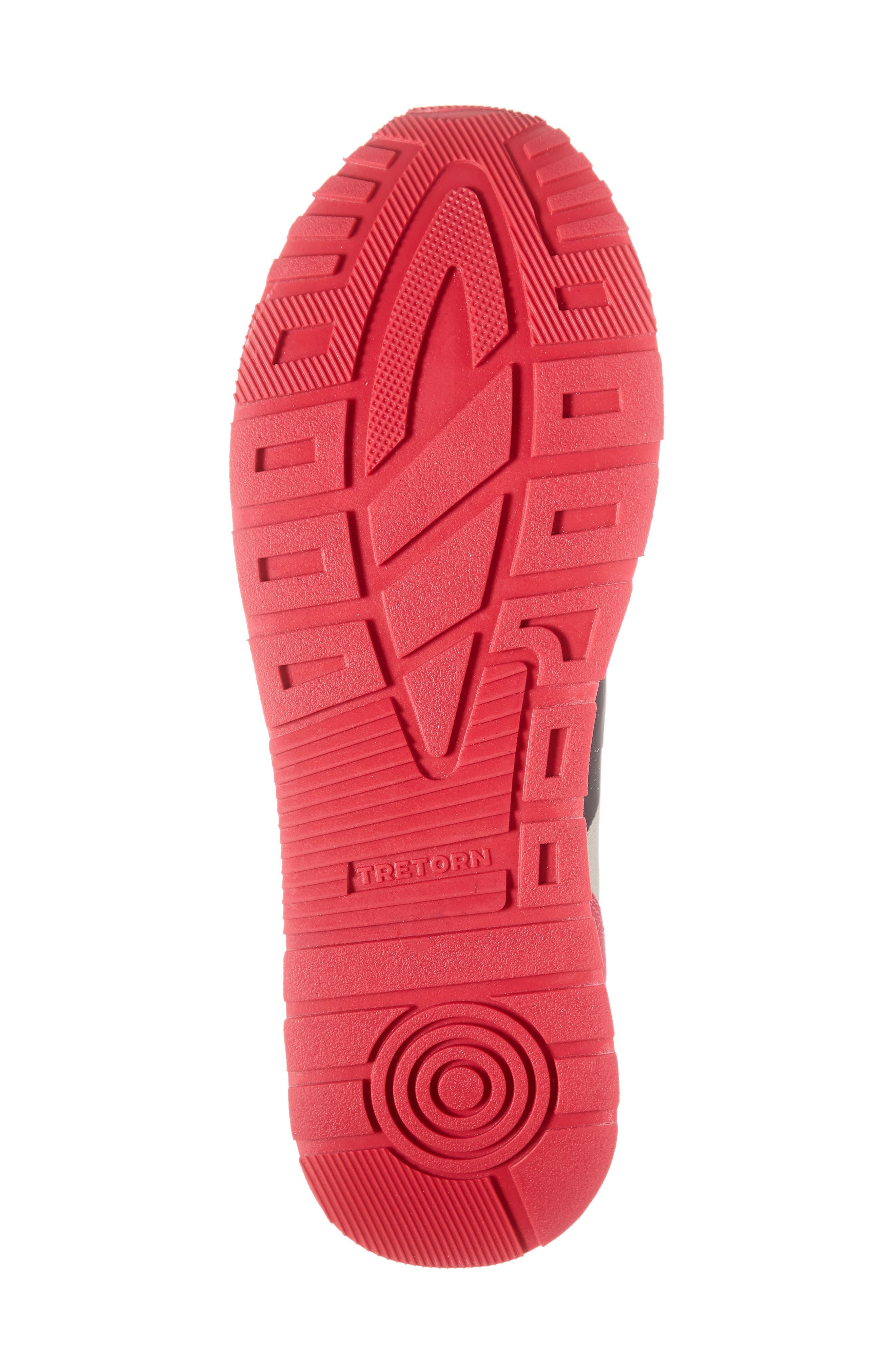 TRETORN,                             Loyola3 Sneaker,                             Alternate thumbnail 6, color,                             GLACIER GREY/ MARSHMALLOW
