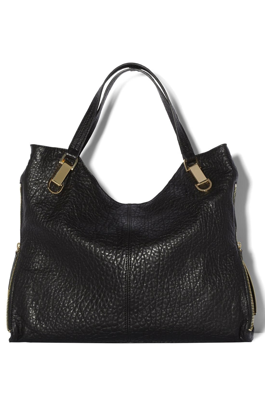 'Riley' Leather Tote,                             Alternate thumbnail 70, color,
