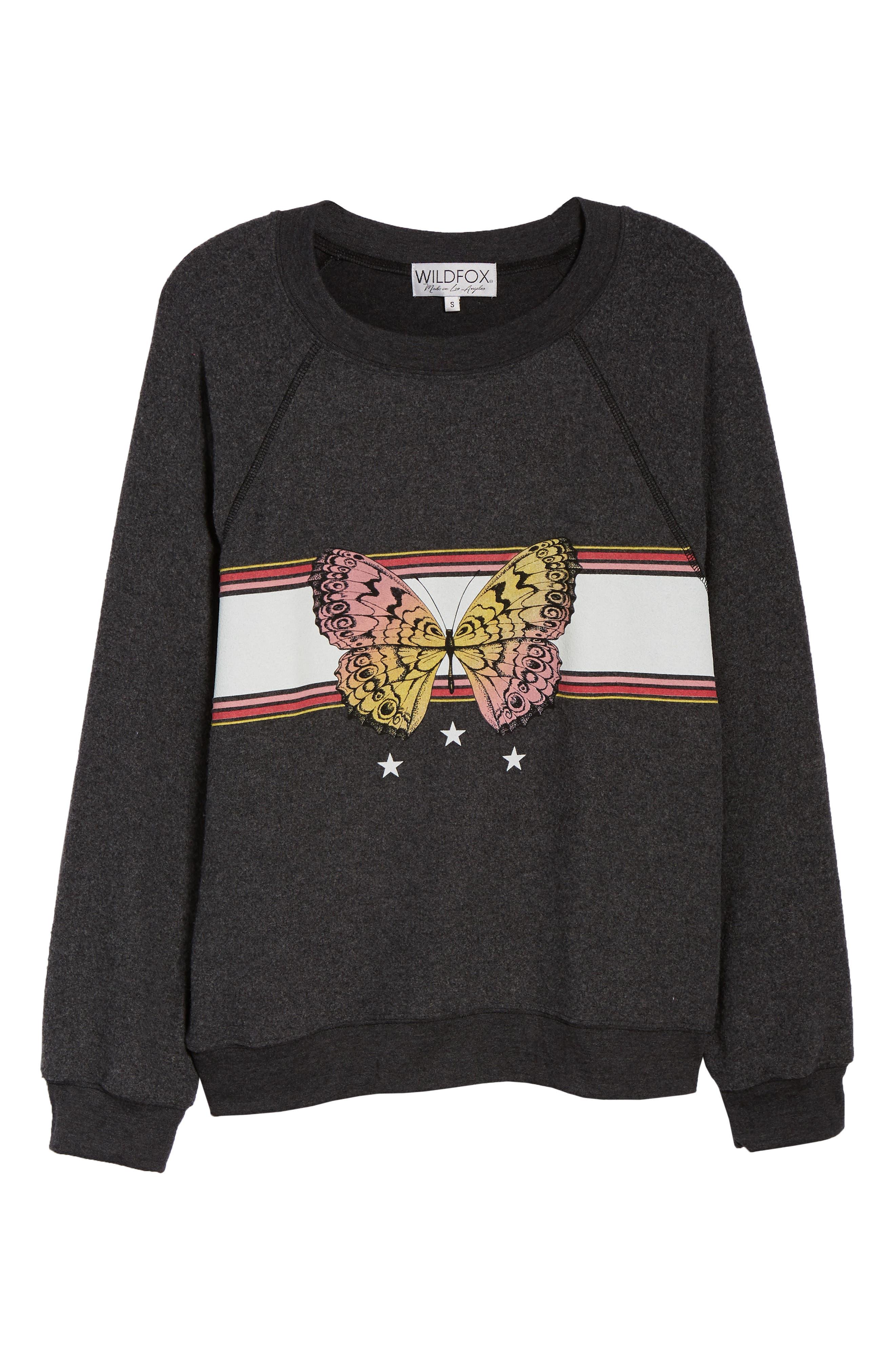 Sommers Papillion Sweatshirt,                             Alternate thumbnail 6, color,                             002