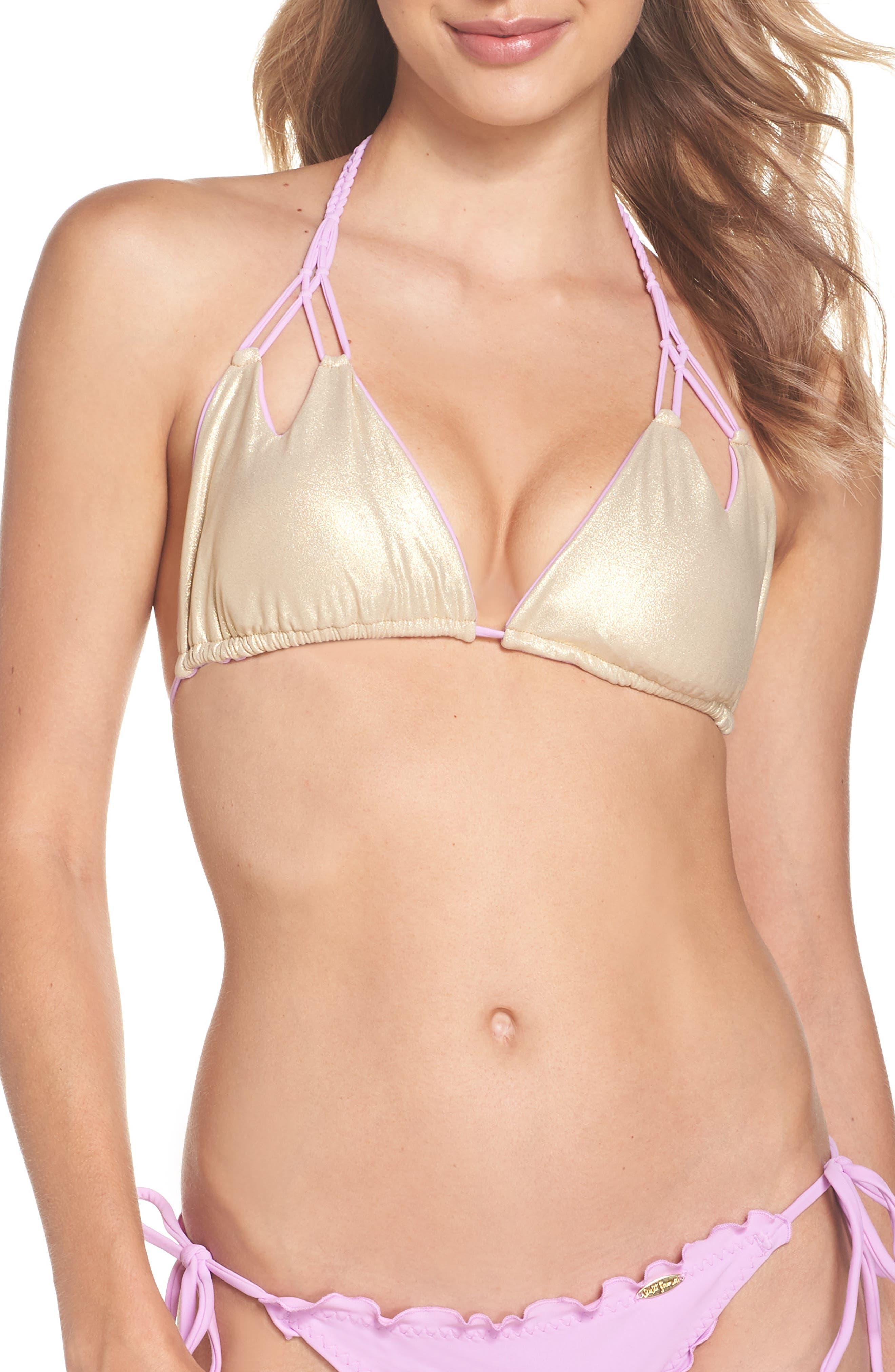 Reversible Triangle Bikini Top,                             Alternate thumbnail 12, color,