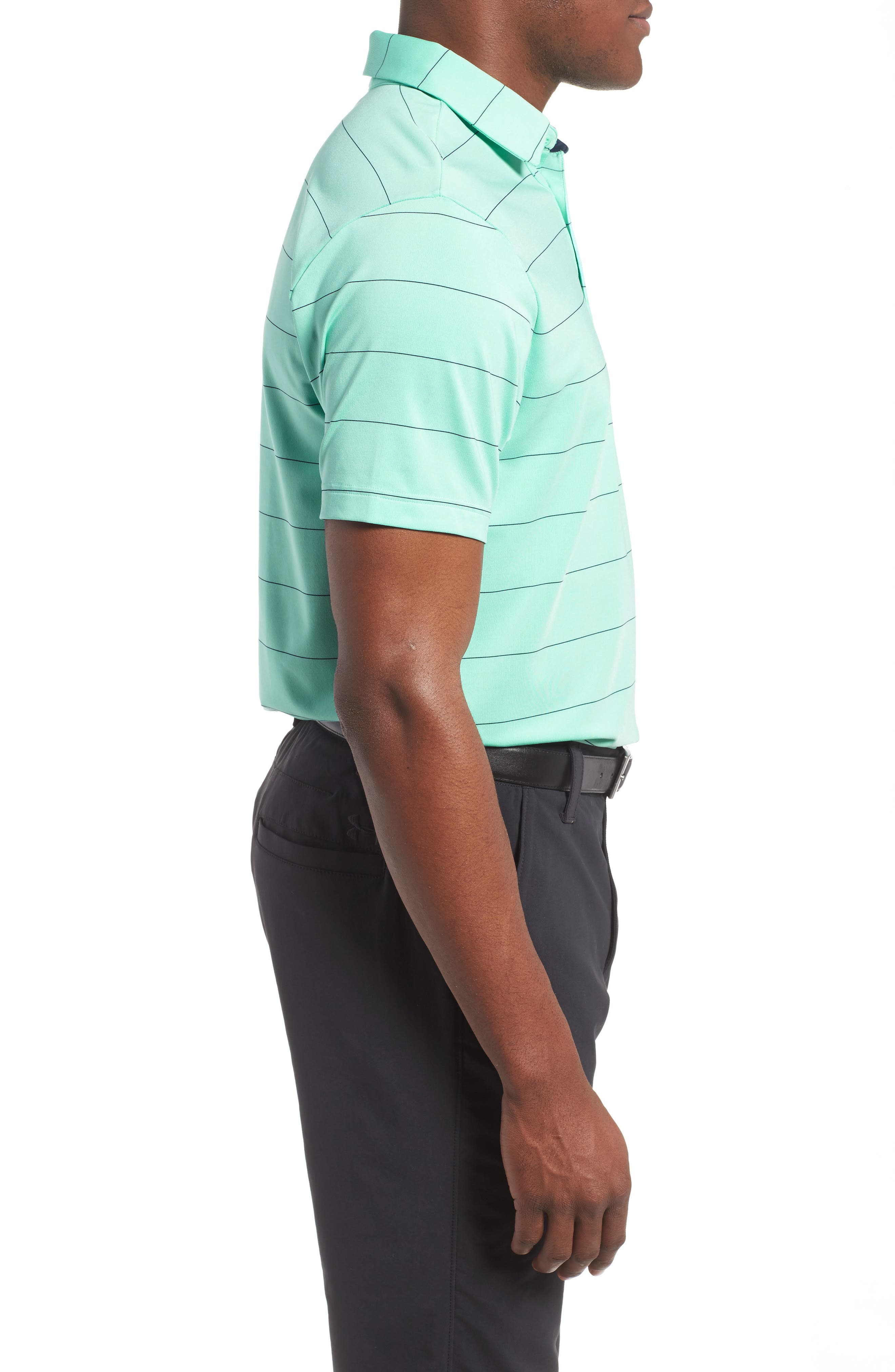'Playoff' Loose Fit Short Sleeve Polo,                             Alternate thumbnail 136, color,