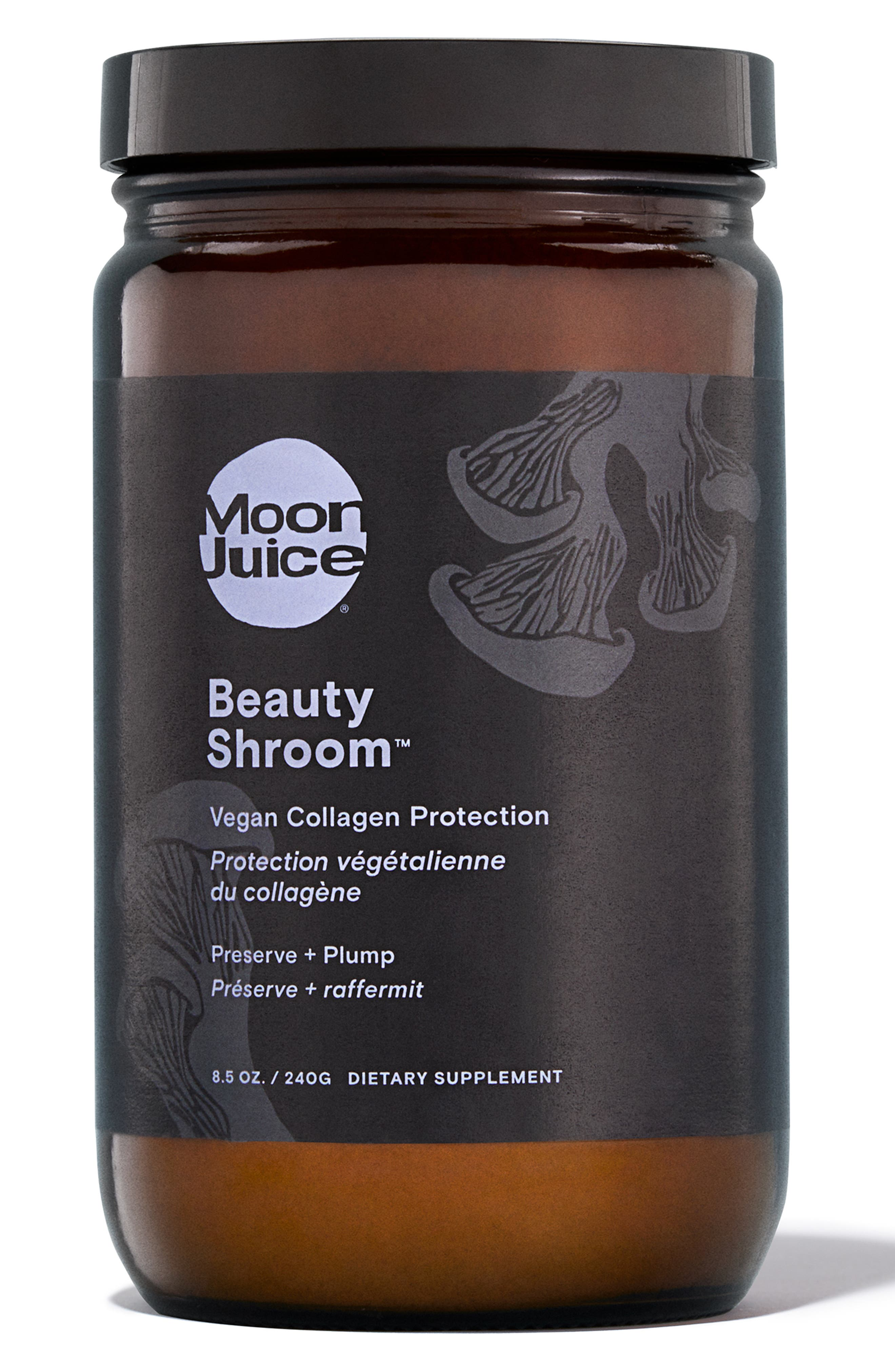 Beauty Shroom Vegan Collagen Protection Dietary Supplement, Main, color, NO COLOR