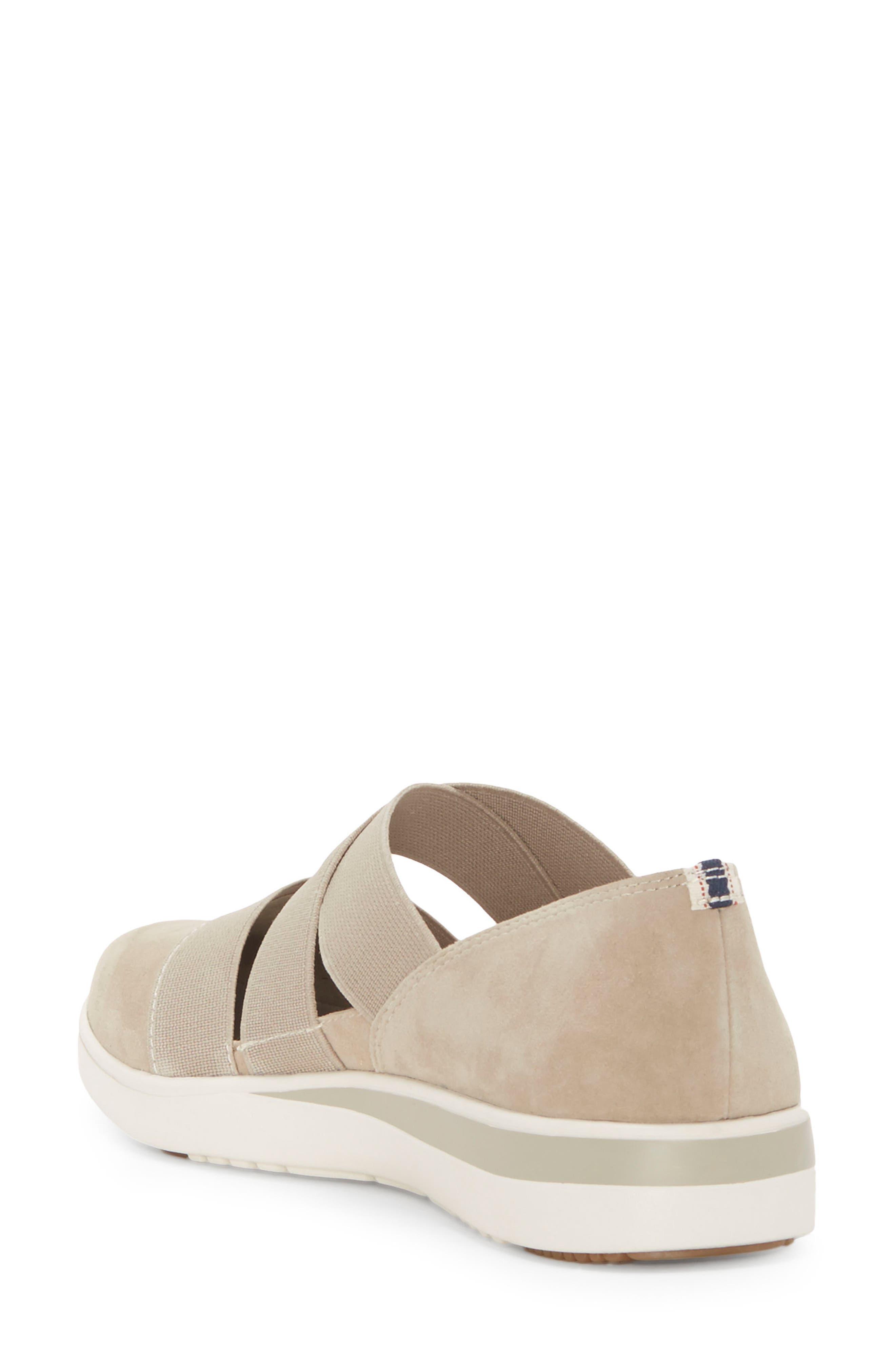 Alskara Slip-On Sneaker Flat,                             Alternate thumbnail 2, color,                             BRINDLE SUEDE